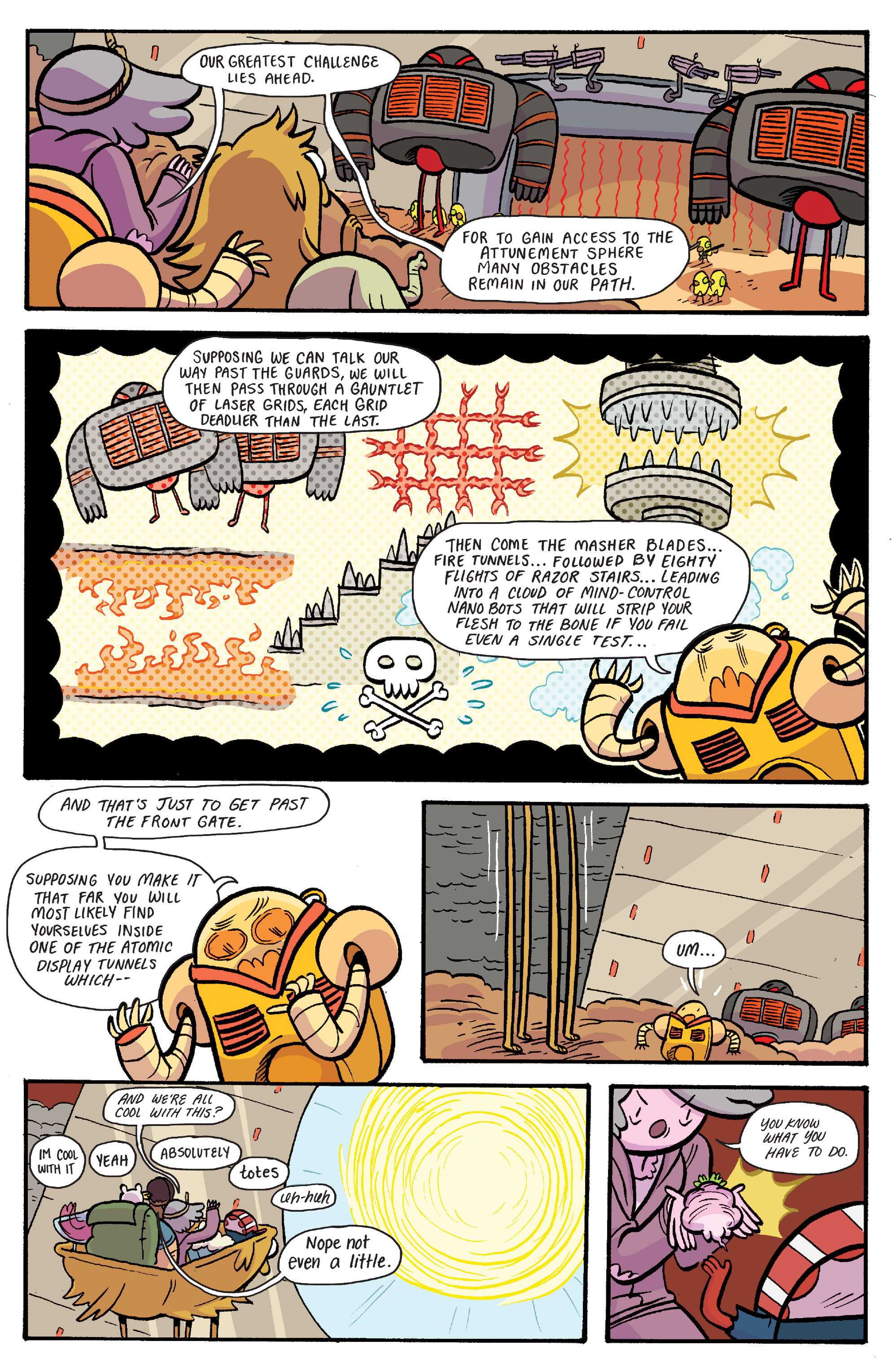 Read online Adventure Time: Banana Guard Academ comic -  Issue #6 - 22