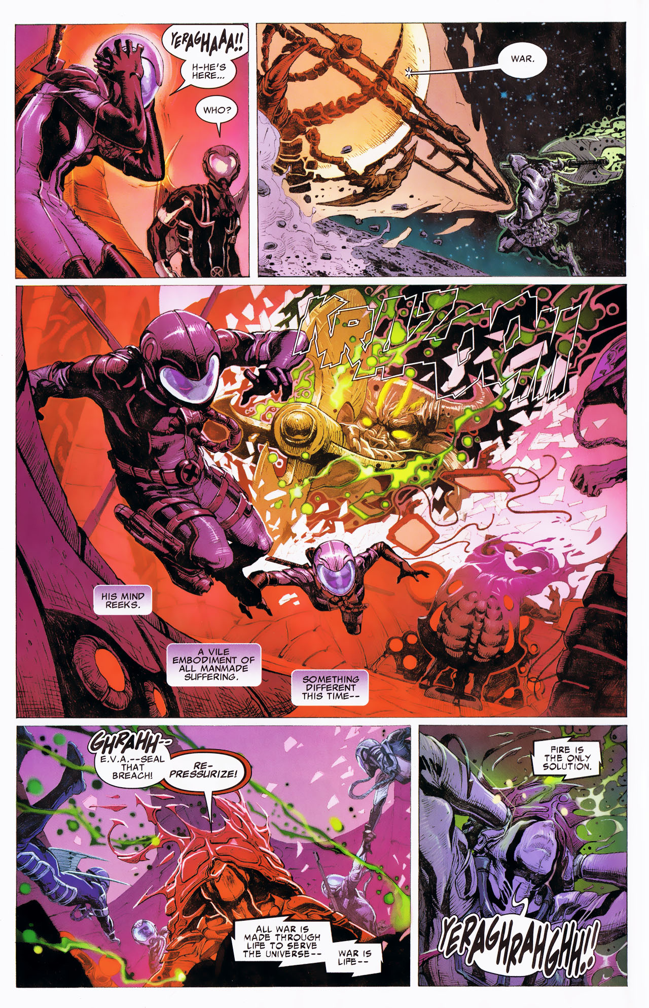 Read online Uncanny X-Force: The Apocalypse Solution comic -  Issue # Full - 42