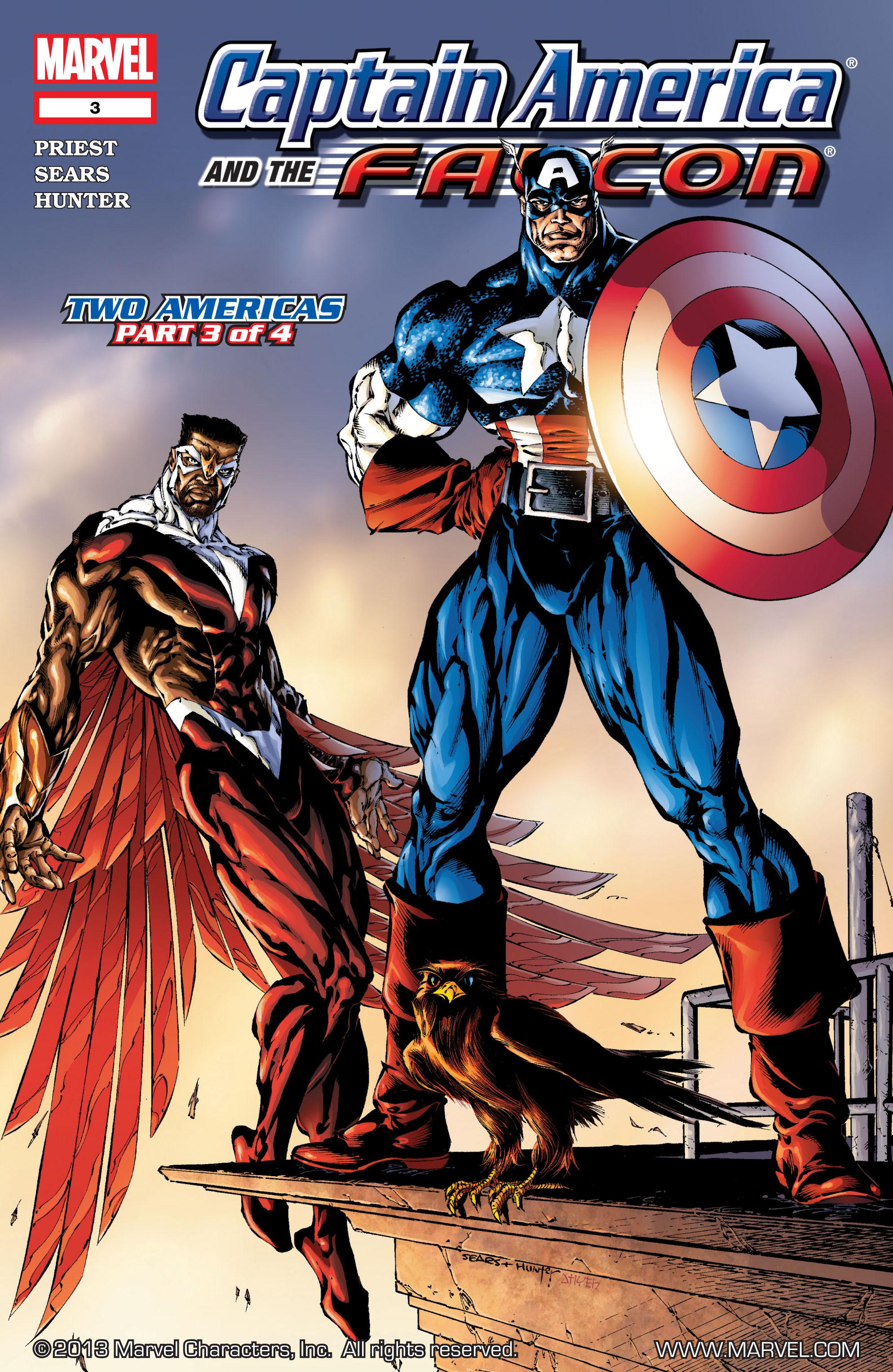 Captain America & the Falcon 3 Page 1