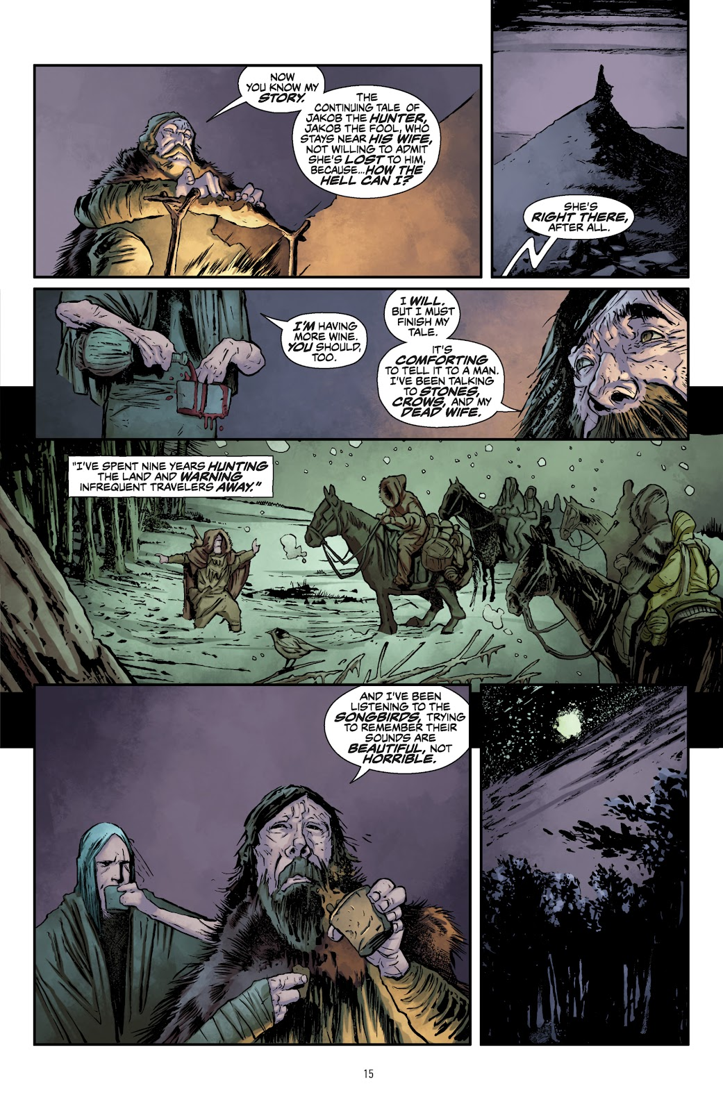 Read online The Witcher Omnibus comic -  Issue # TPB (Part 1) - 16