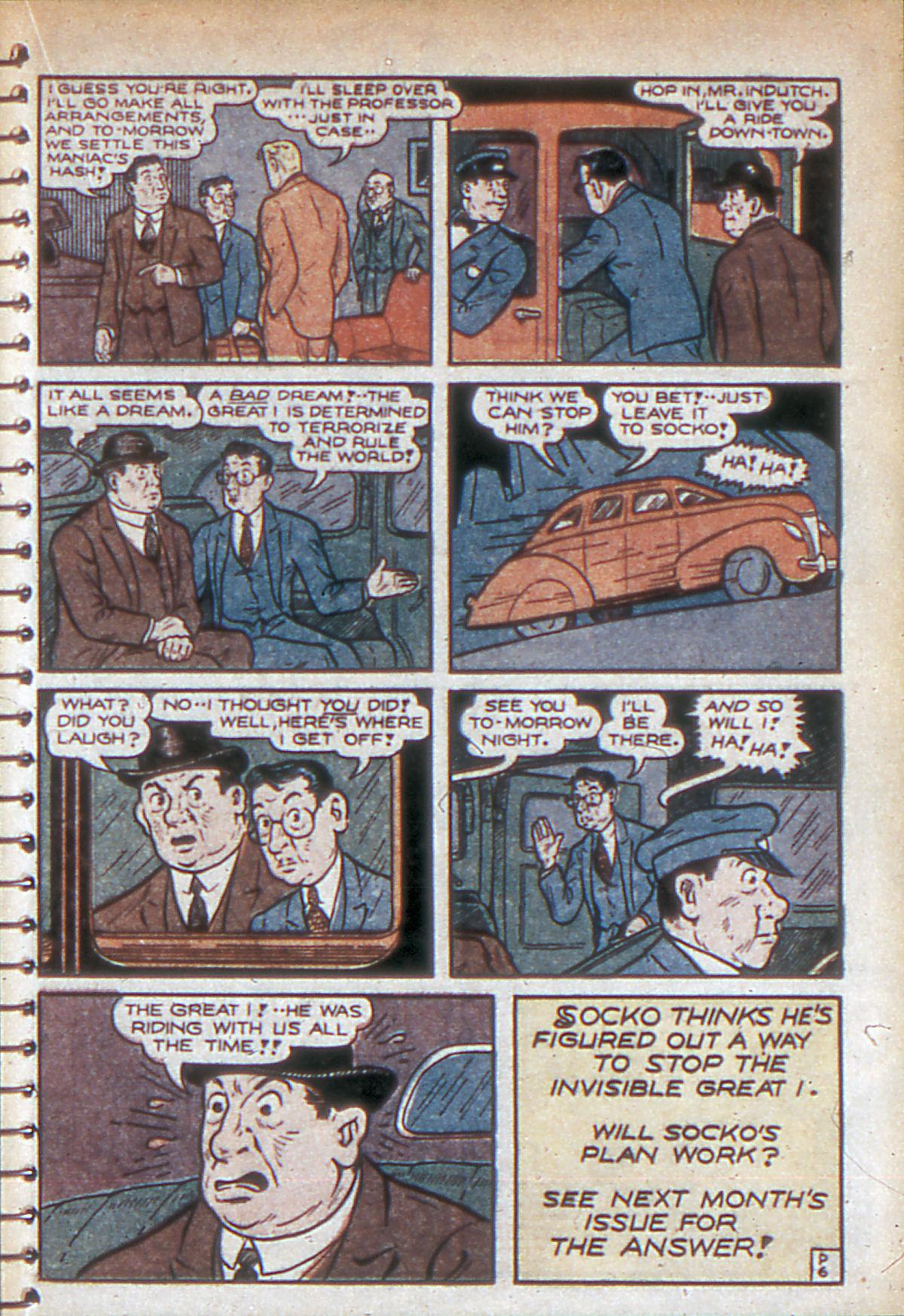 Read online Adventure Comics (1938) comic -  Issue #53 - 54