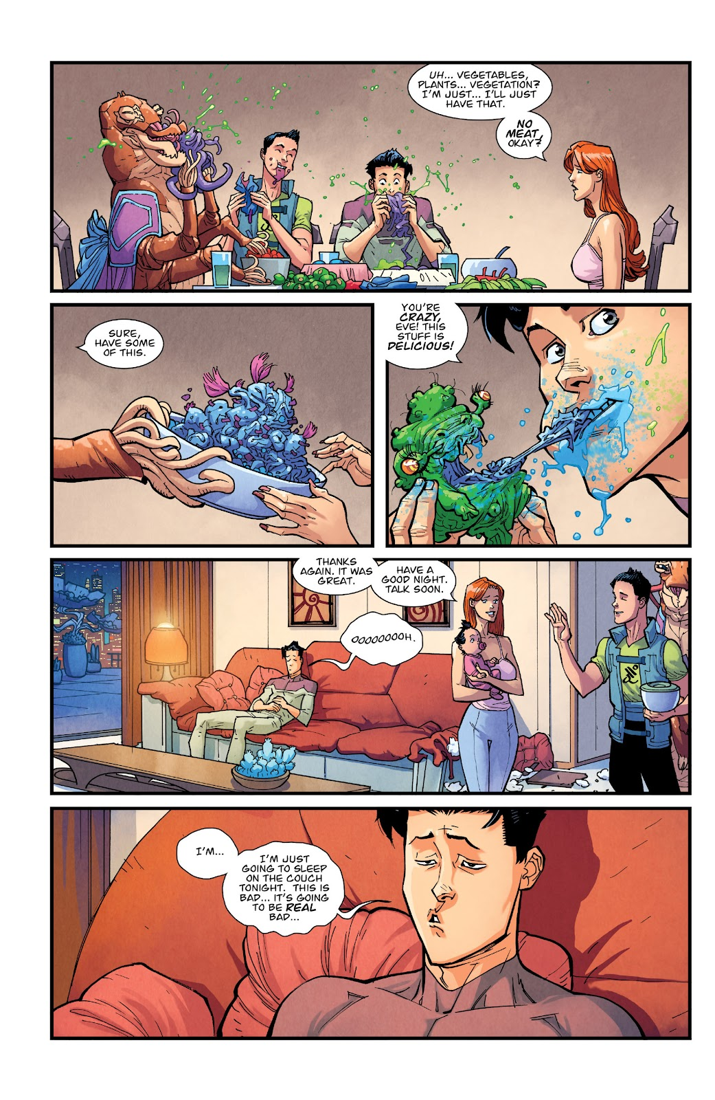 Invincible (2003) issue TPB 21 - Modern Family - Page 77