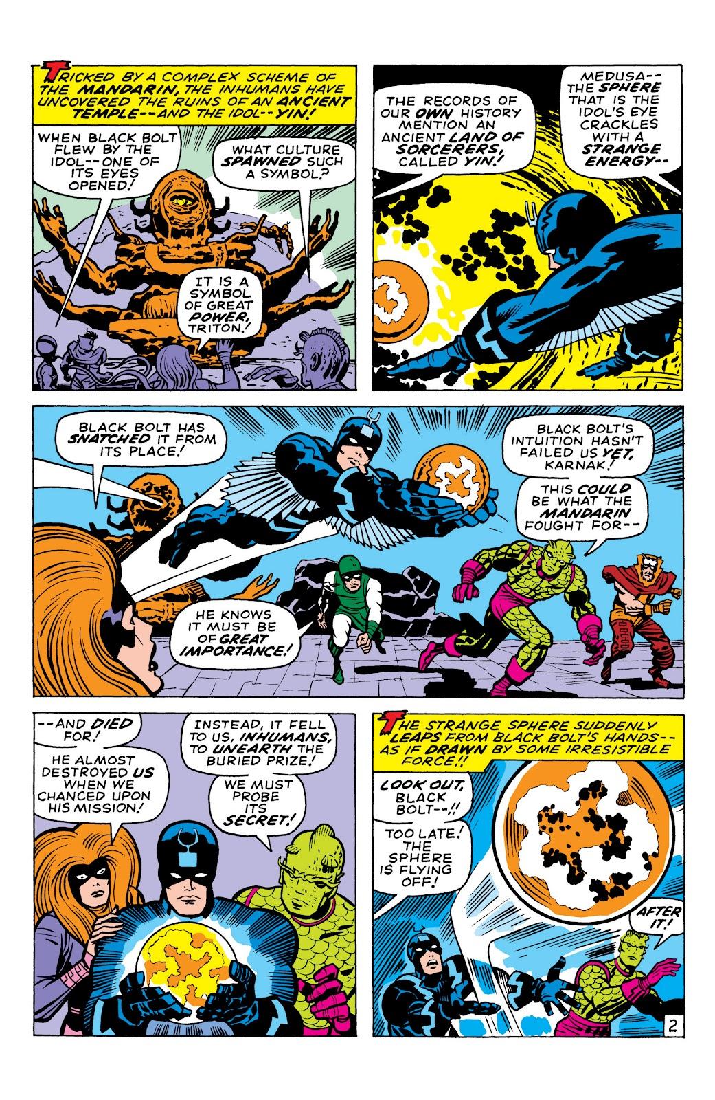 Read online Marvel Masterworks: The Inhumans comic -  Issue # TPB 1 (Part 2) - 4