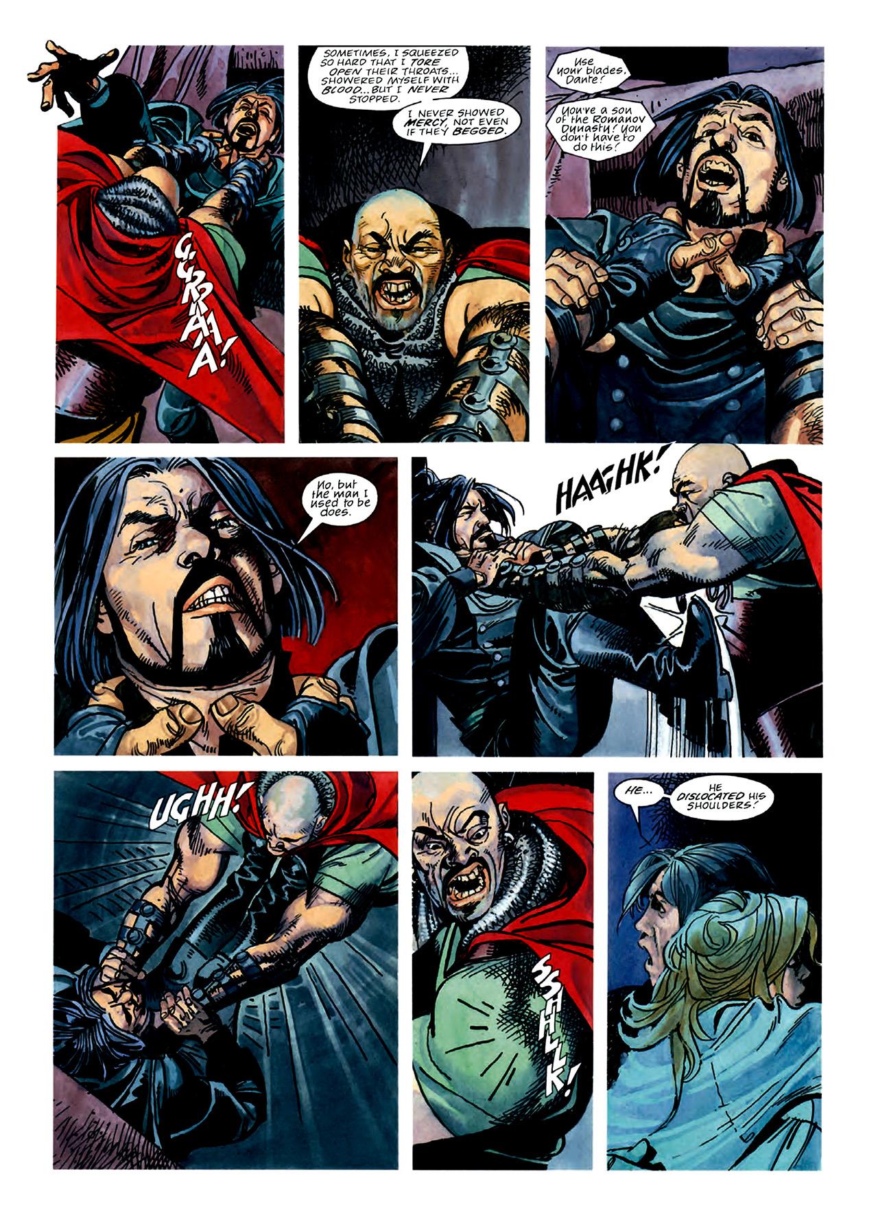Read online Nikolai Dante comic -  Issue # TPB 3 - 56