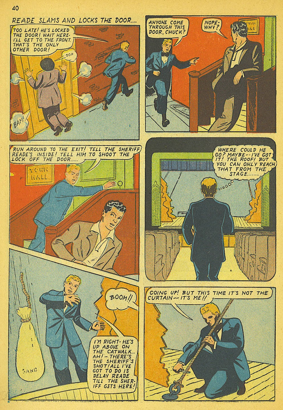 Read online Super-Magician Comics comic -  Issue #19 - 32