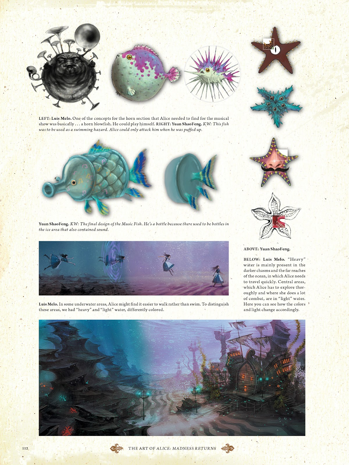 Read online The Art of Alice: Madness Returns comic -  Issue # TPB (Part 2) - 11