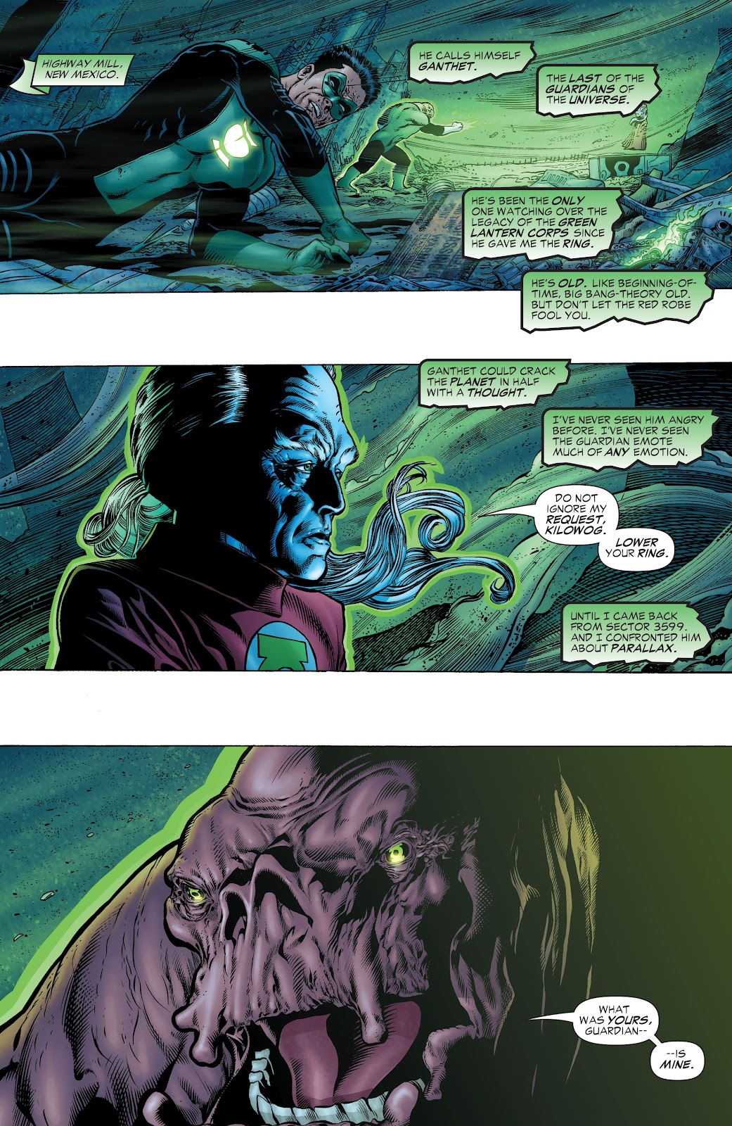 Read online Green Lantern by Geoff Johns comic -  Issue # TPB 1 (Part 1) - 67