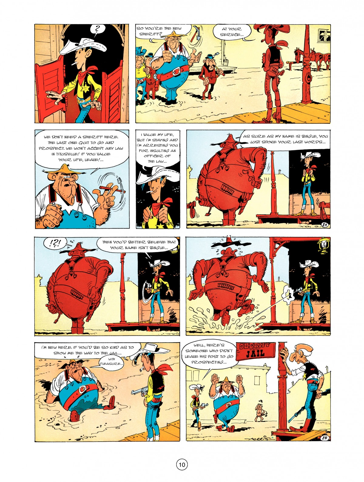 A Lucky Luke Adventure 5 Page 11