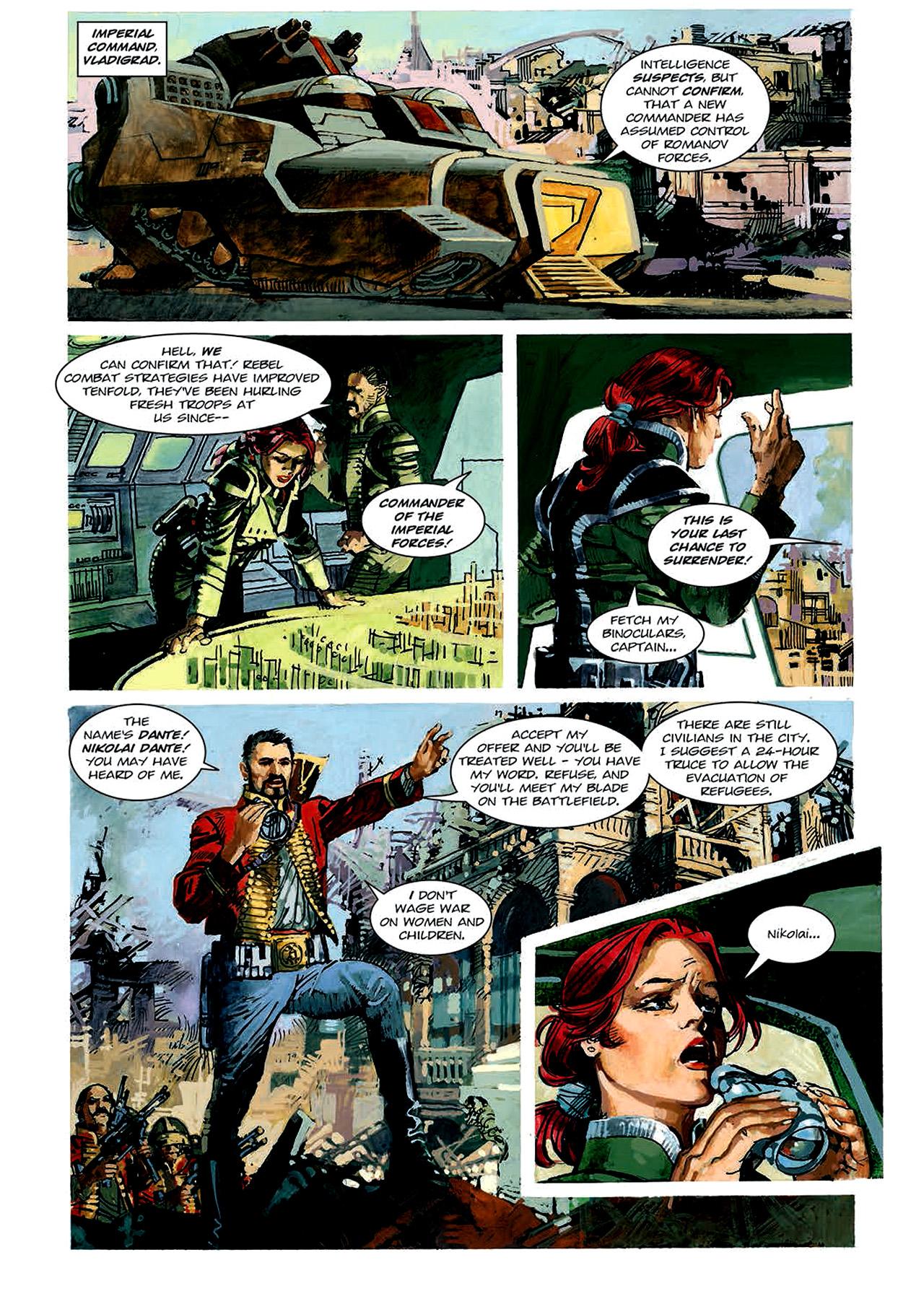 Read online Nikolai Dante comic -  Issue # TPB 4 - 58