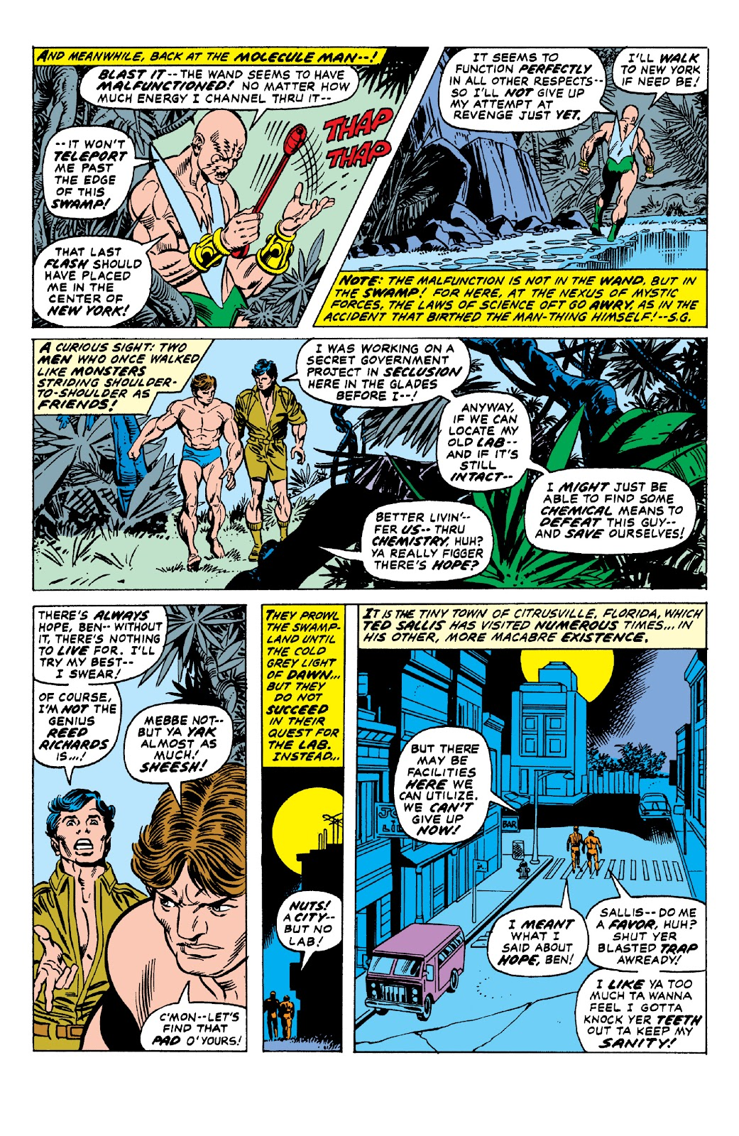 Read online Marvel Two-In-One Epic Collection: Cry Monster comic -  Issue # TPB (Part 1) - 58