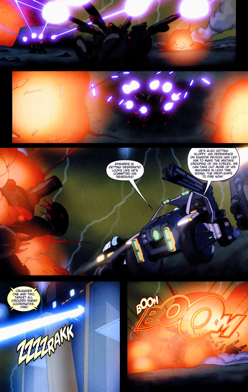 Read online Robotech: Prelude to the Shadow Chronicles comic -  Issue #4 - 11