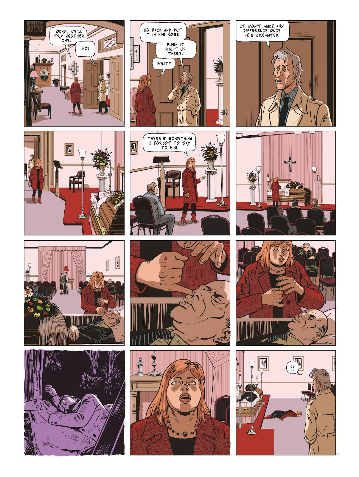 Read online Maggy Garrisson comic -  Issue #3 - 39