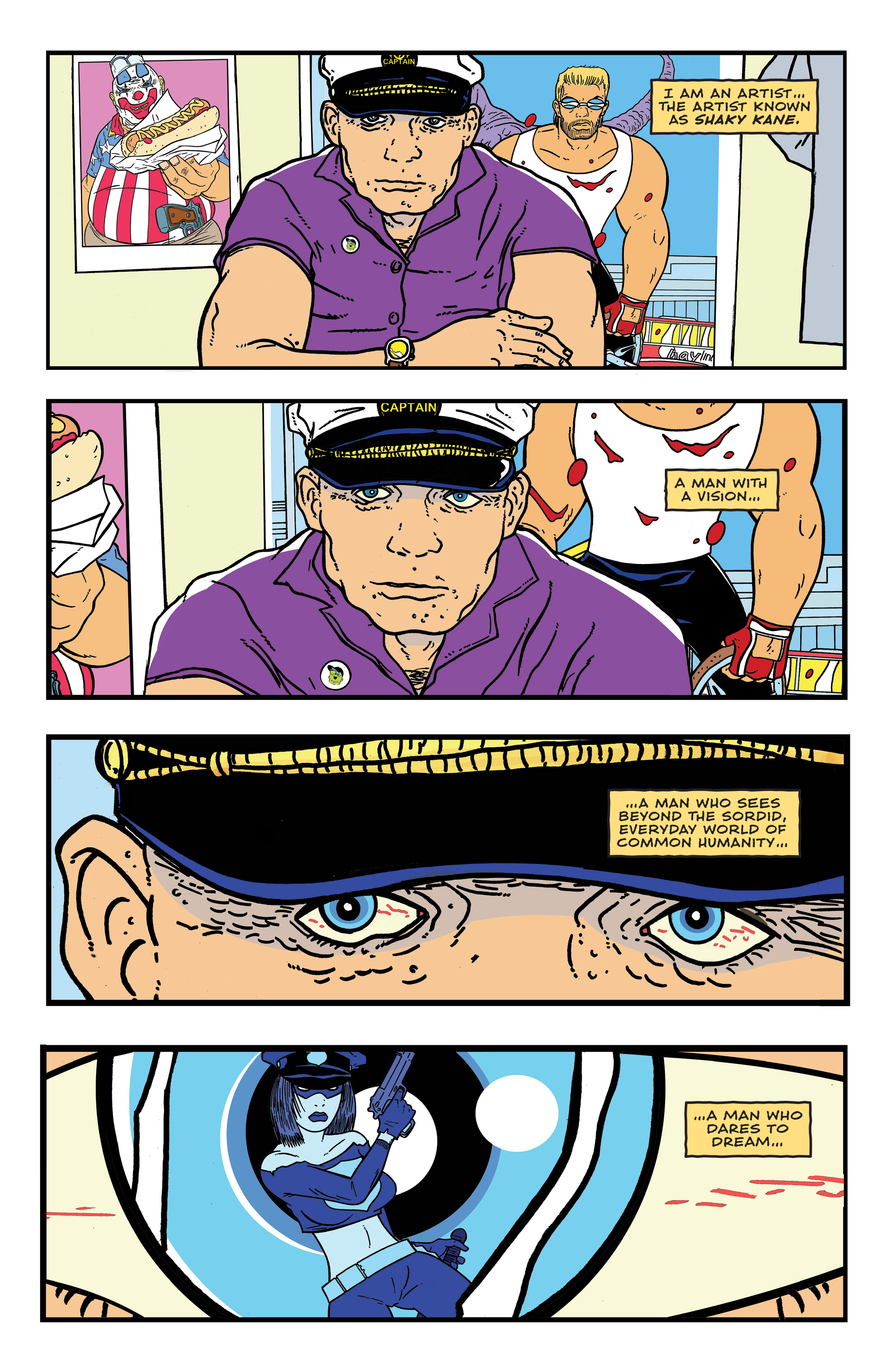 Read online Bulletproof Coffin: The Thousand Yard Stare comic -  Issue # Full - 3