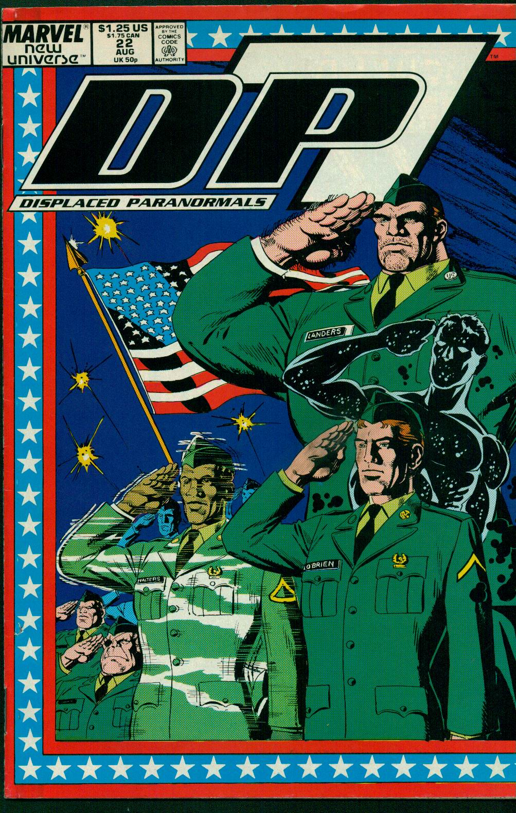 Read online DP7 comic -  Issue #22 - 1