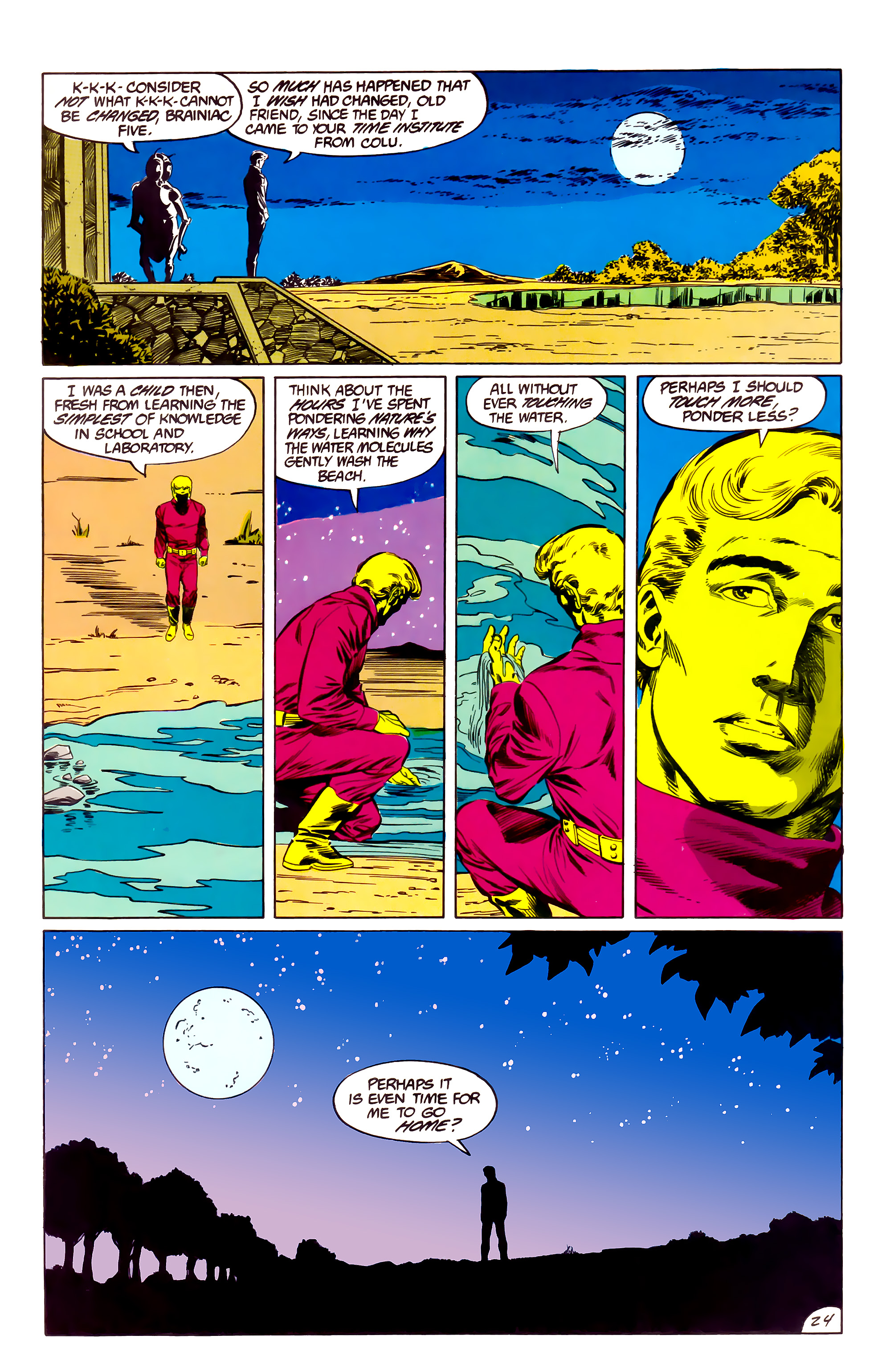 Legion of Super-Heroes (1984) 36 Page 24