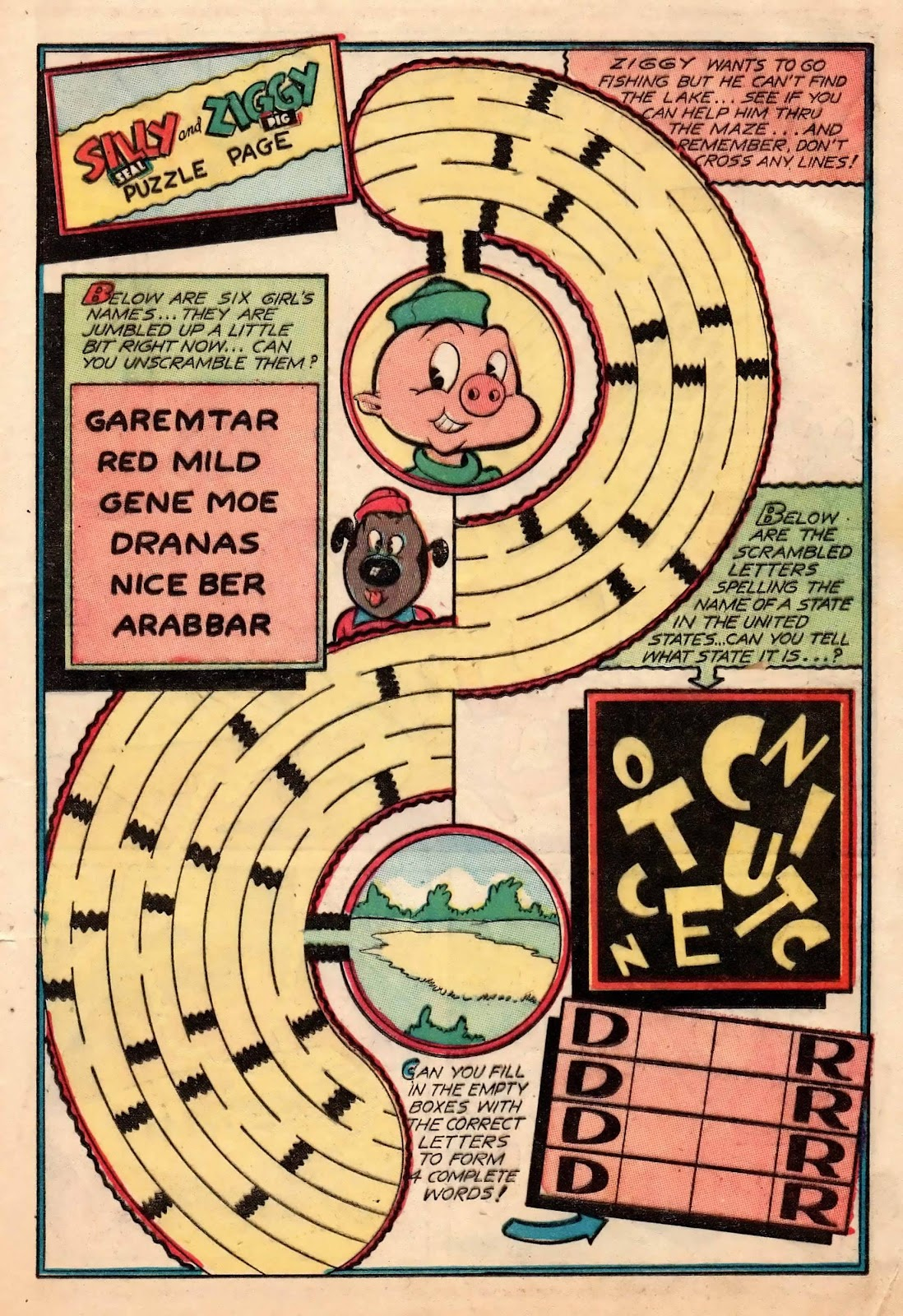 Ziggy Pig-Silly Seal Comics (1944) issue 2 - Page 33