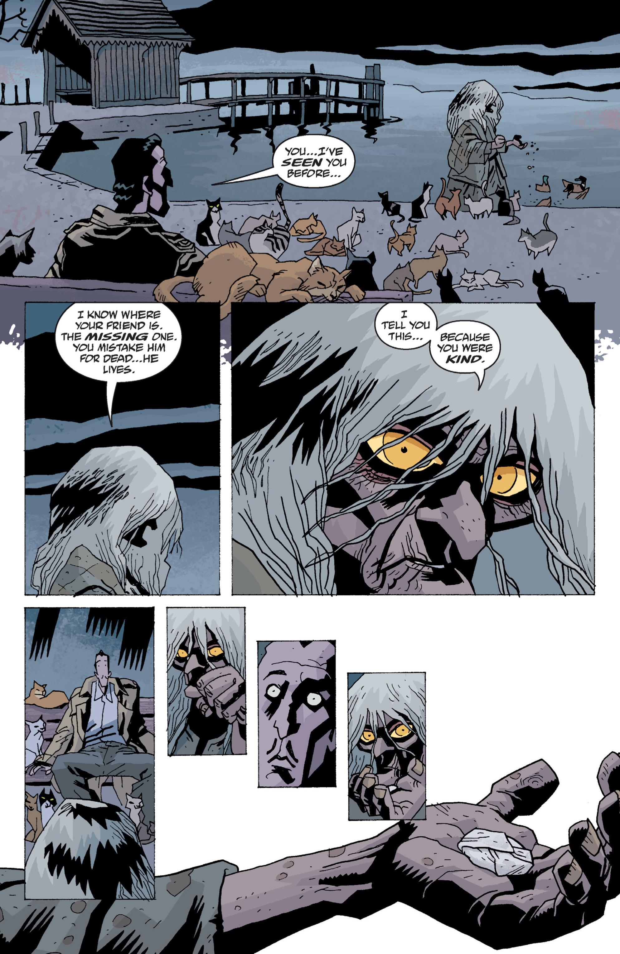 Read online B.P.R.D. (2003) comic -  Issue # TPB 13 - 91