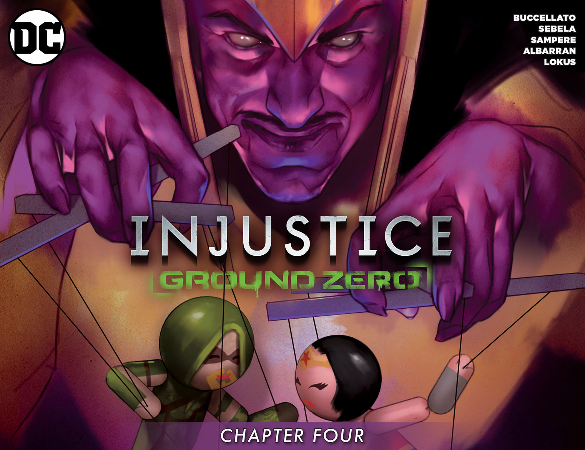 Read online Injustice: Ground Zero comic -  Issue #4 - 1