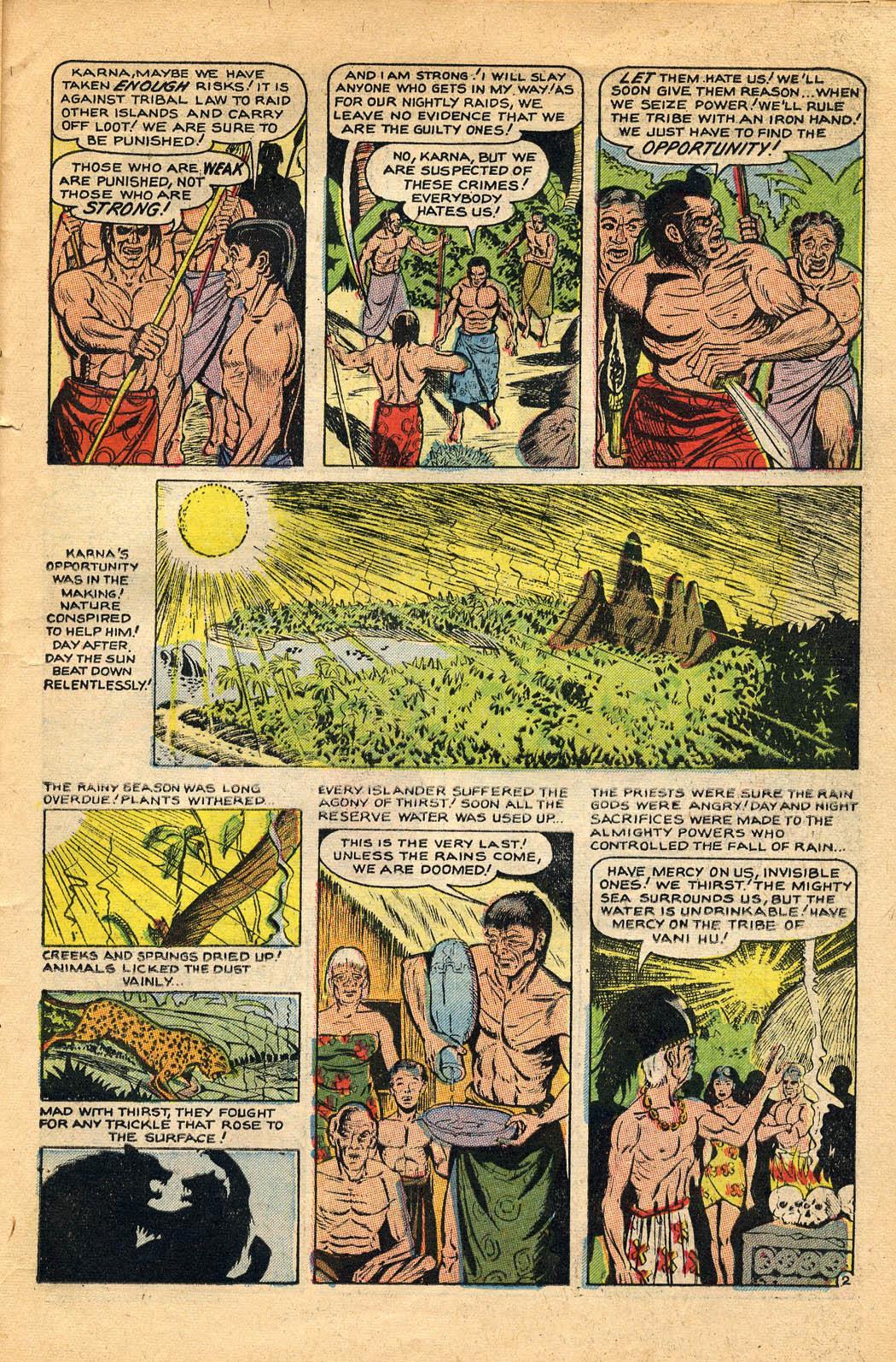 Read online Adventures into Weird Worlds comic -  Issue #29 - 23