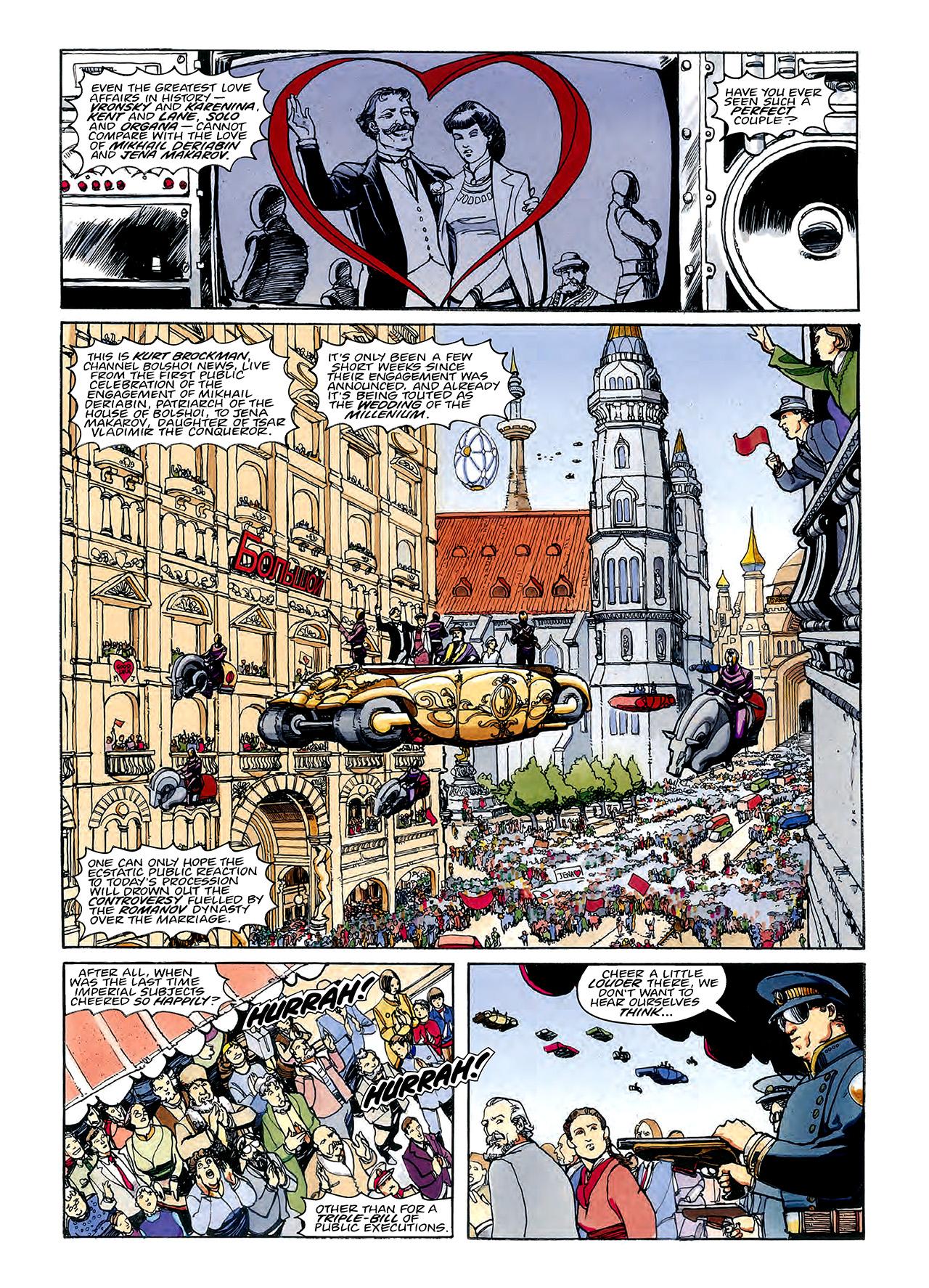 Read online Nikolai Dante comic -  Issue # TPB 3 - 61