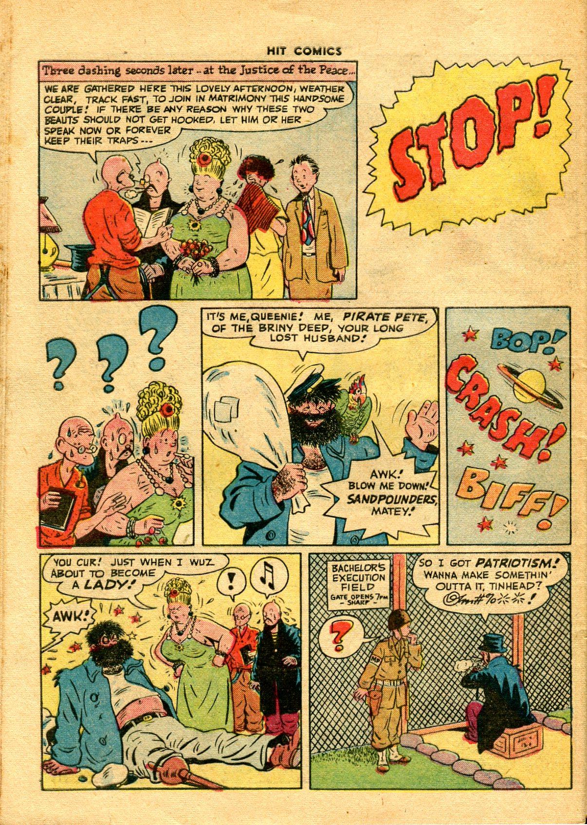 Read online Hit Comics comic -  Issue #48 - 44