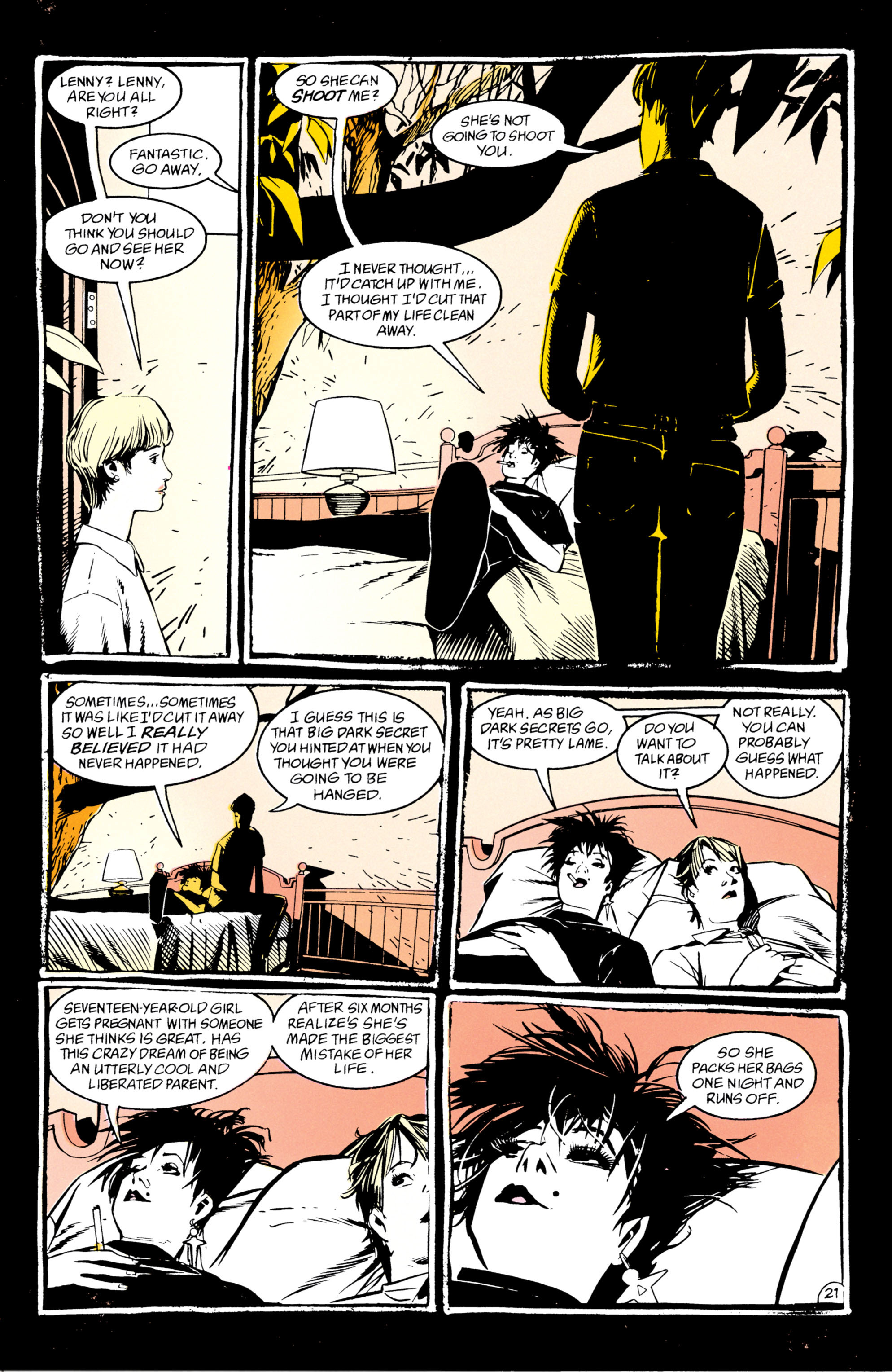 Read online Shade, the Changing Man comic -  Issue #47 - 22