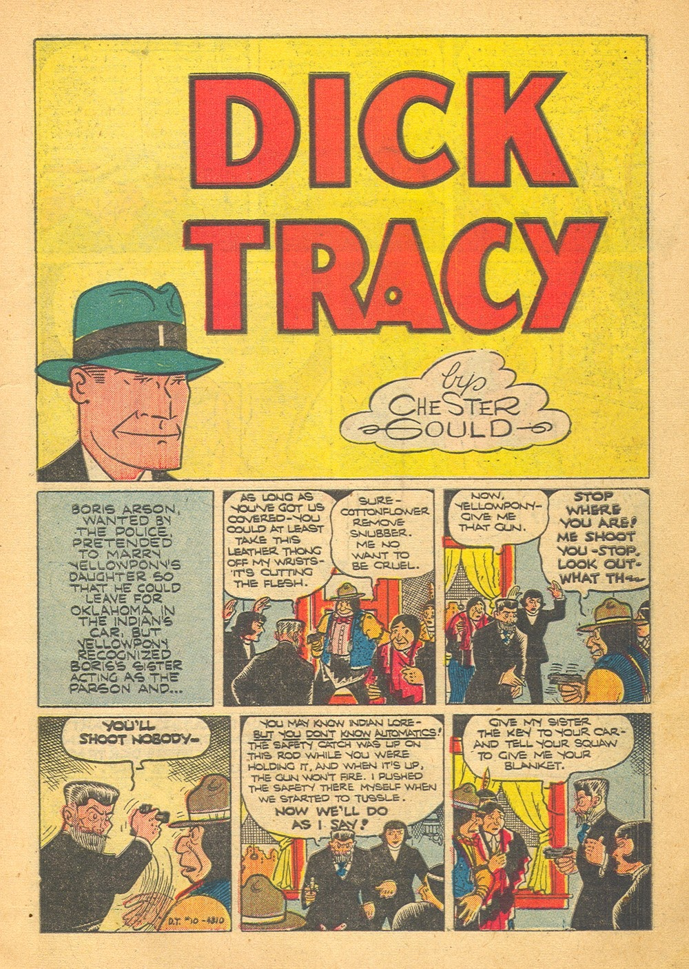 Dick Tracy Monthly issue 10 - Page 3