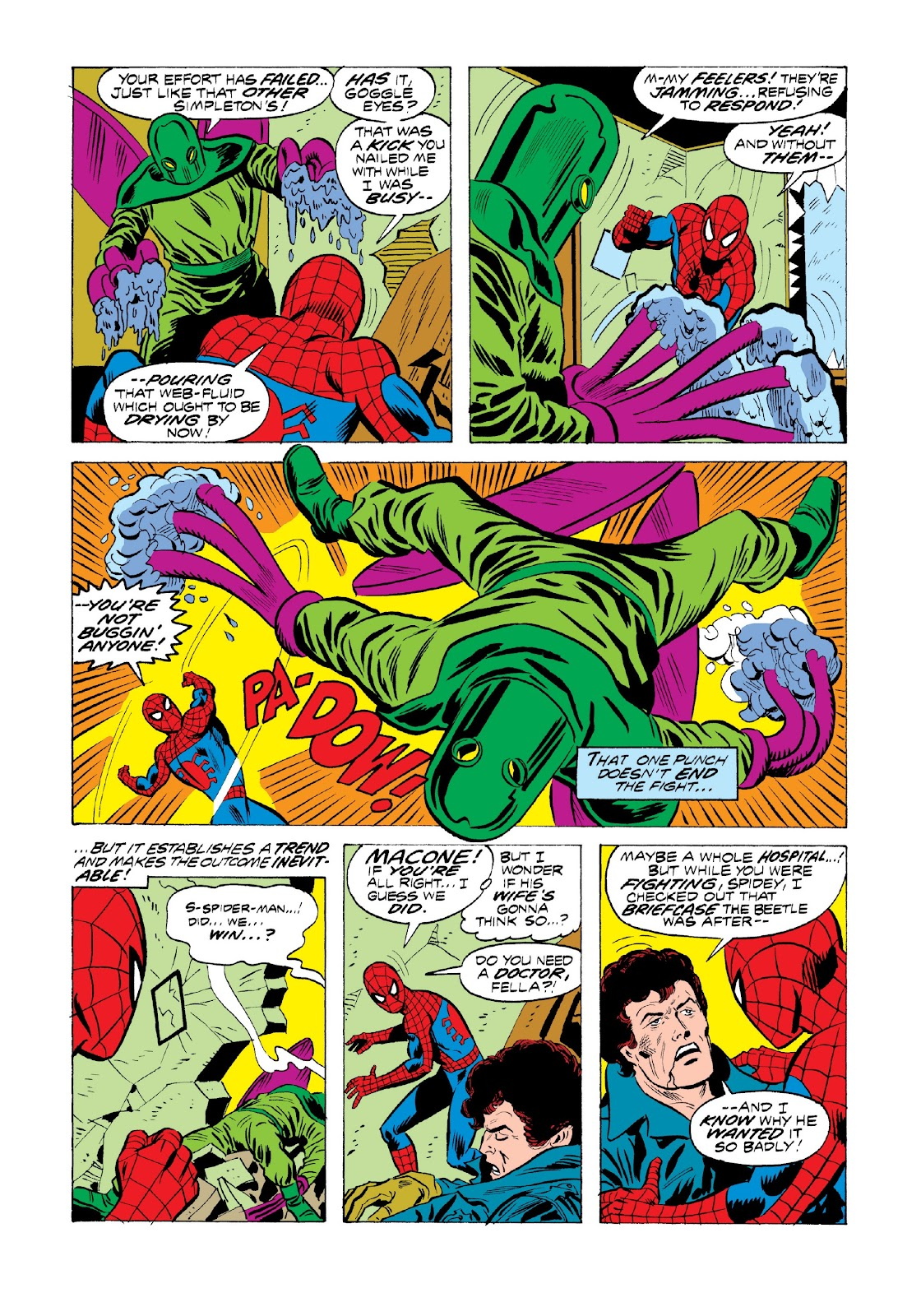 Read online Marvel Masterworks: The Spectacular Spider-Man comic -  Issue # TPB 2 (Part 1) - 25