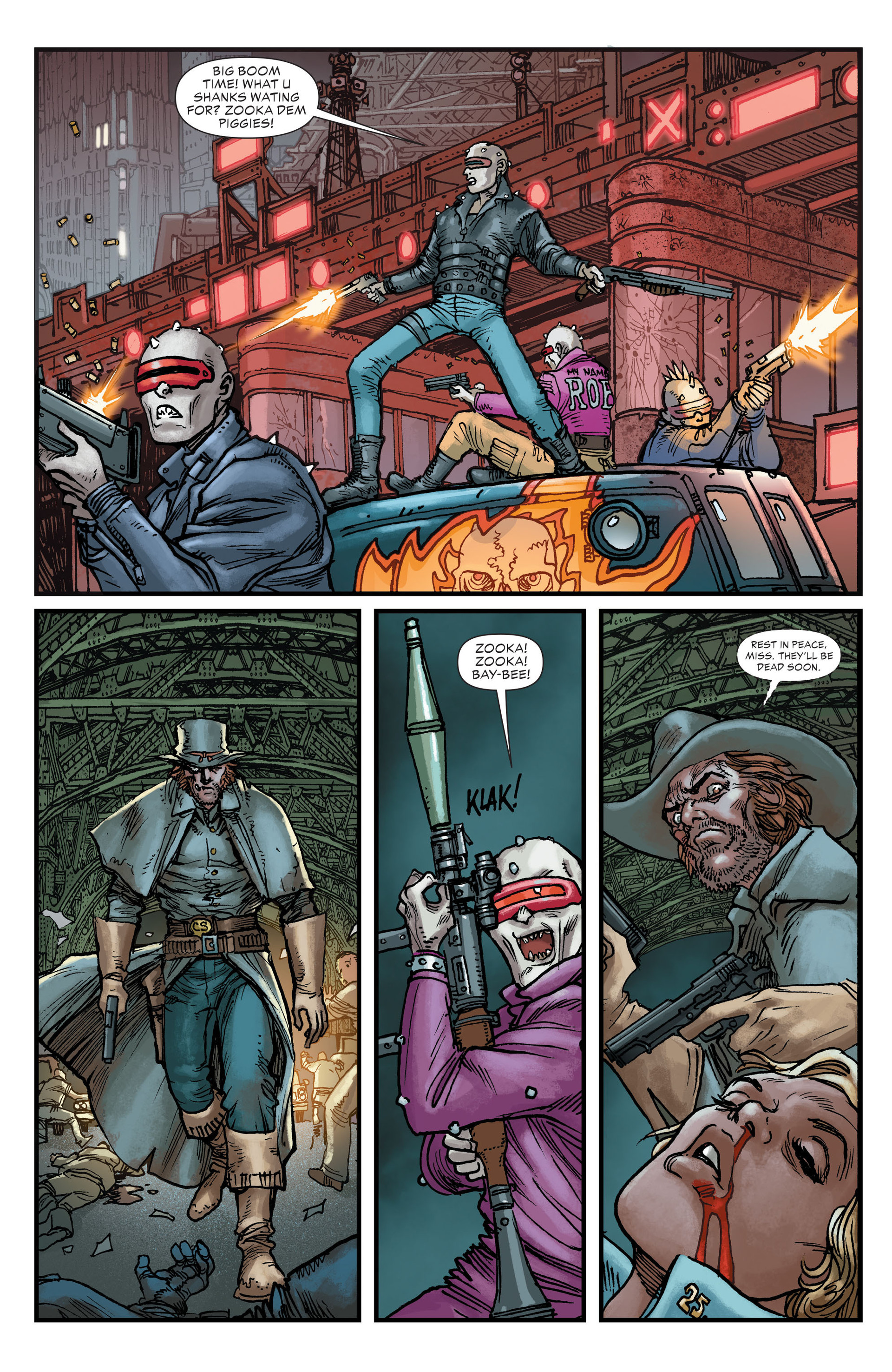 Read online All-Star Western (2011) comic -  Issue #22 - 26