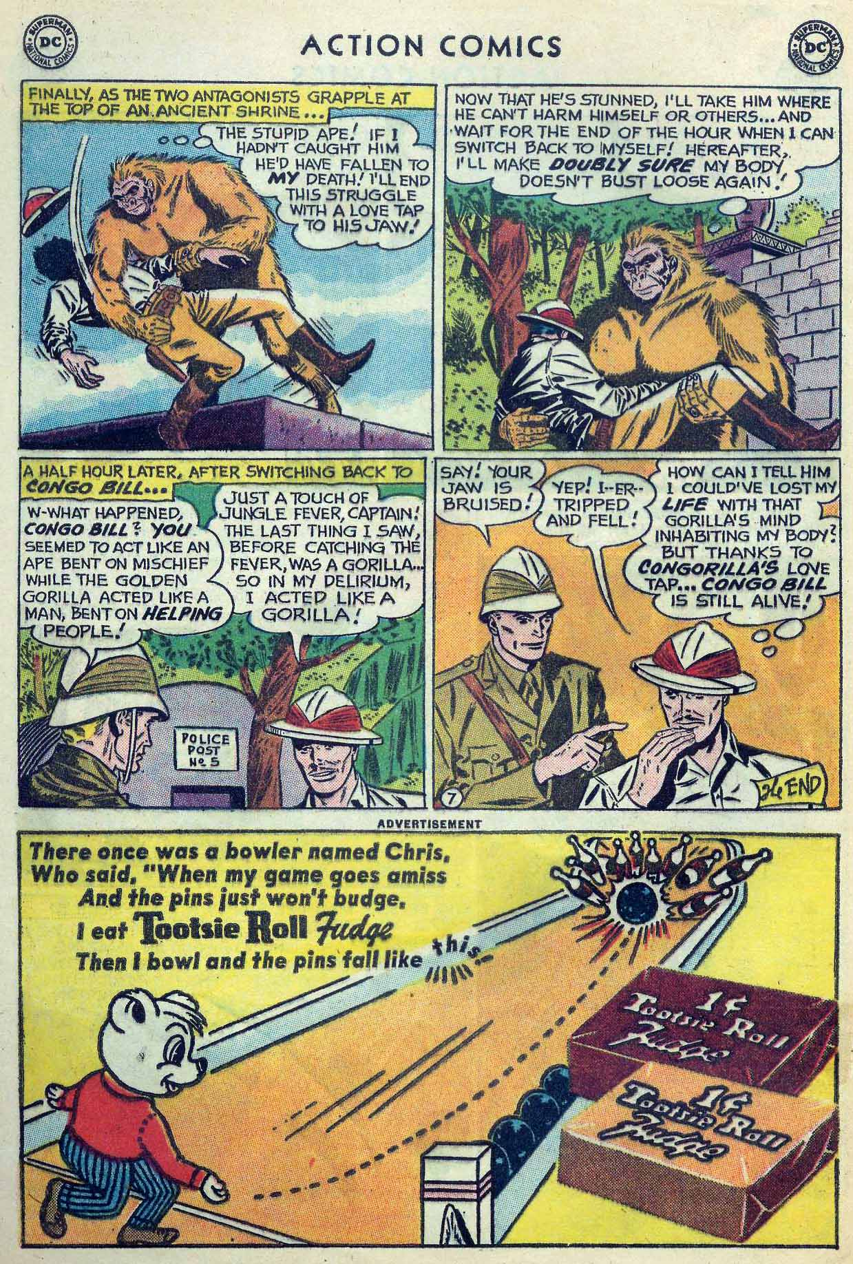 Read online Action Comics (1938) comic -  Issue #253 - 32
