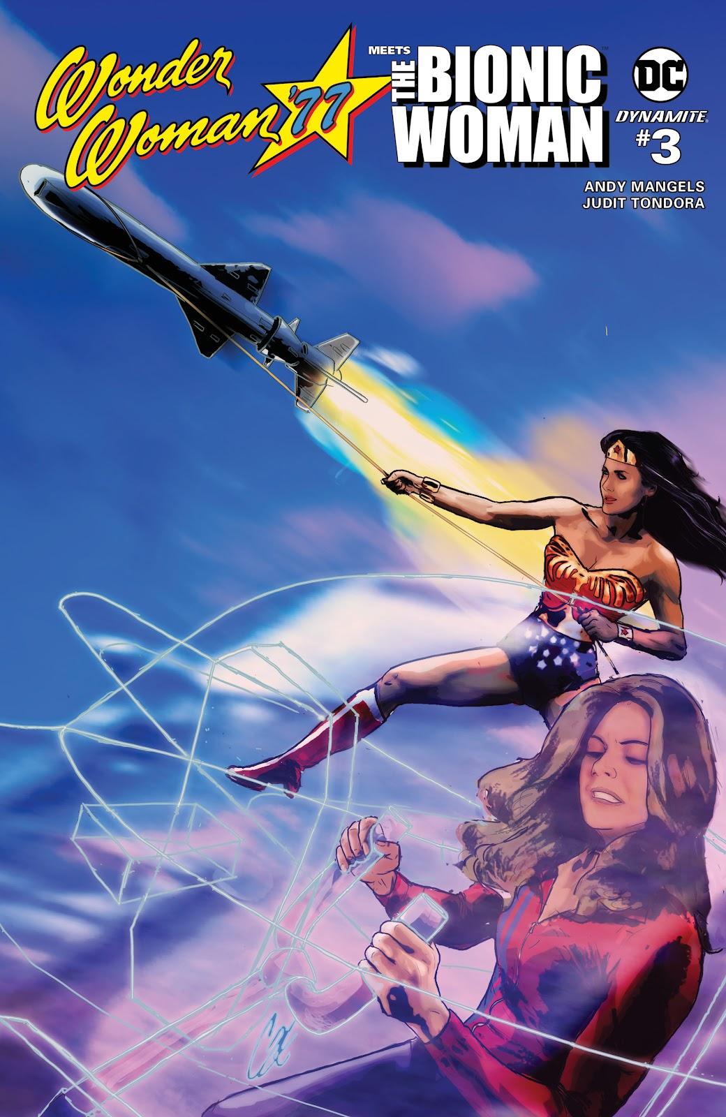 Wonder Woman 77 Meets The Bionic Woman 3 Page 1