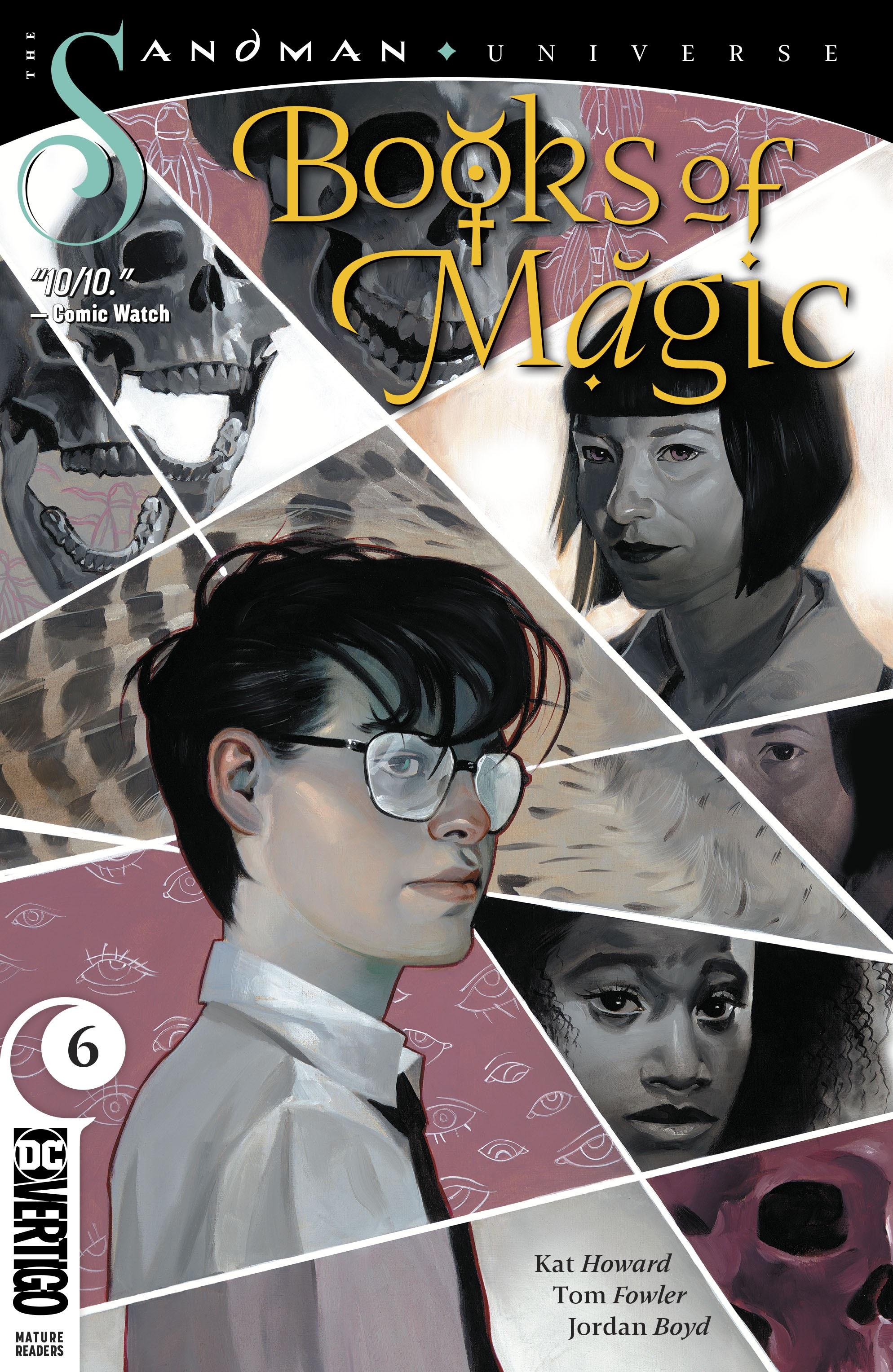 Books of Magic 2018 Issue 6