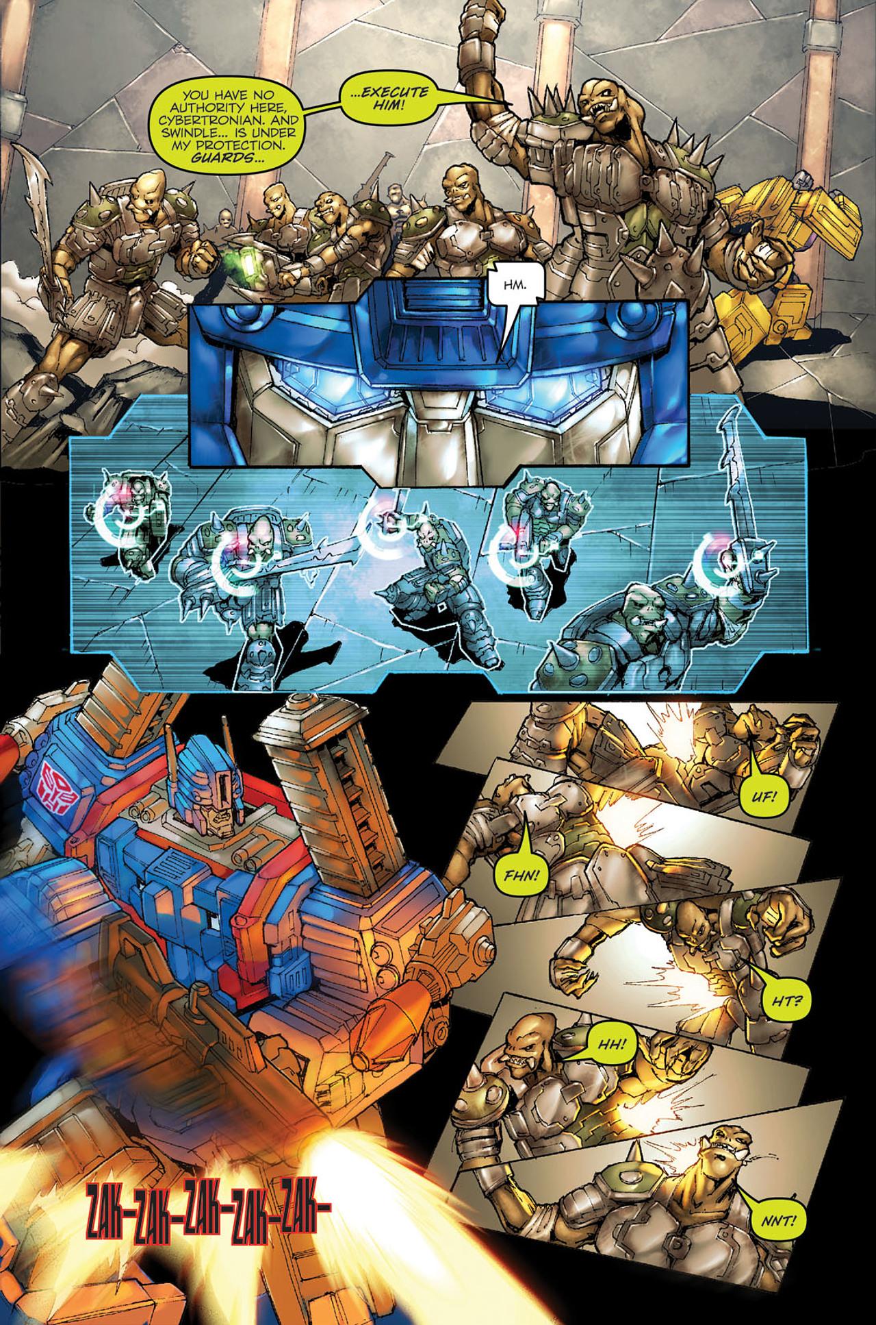 Read online Transformers Spotlight: Ultra Magnus comic -  Issue # Full - 5