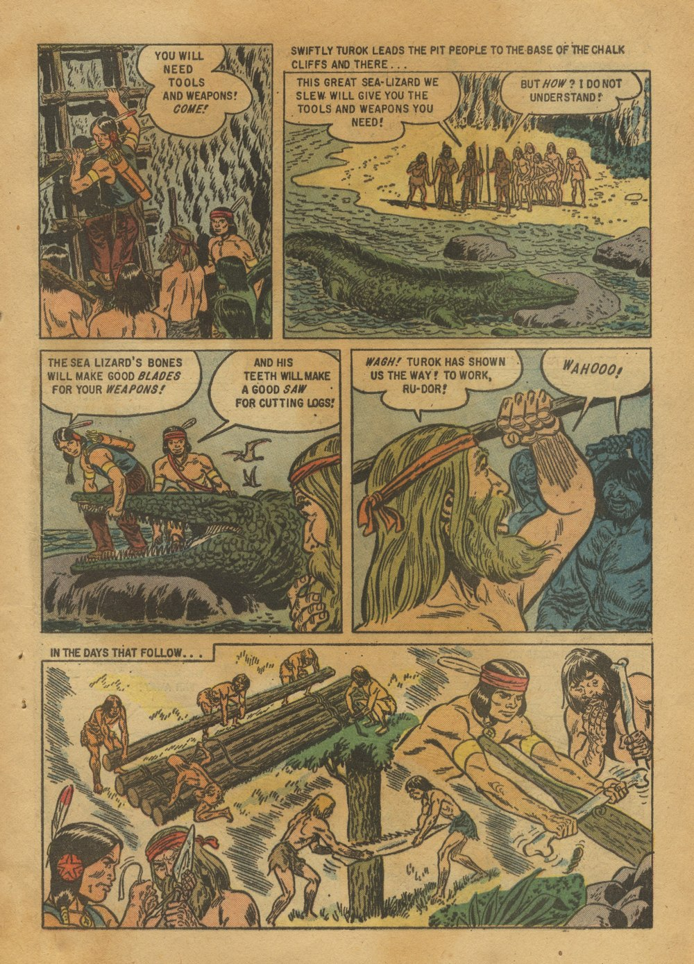 Read online Turok, Son of Stone comic -  Issue #12 - 29