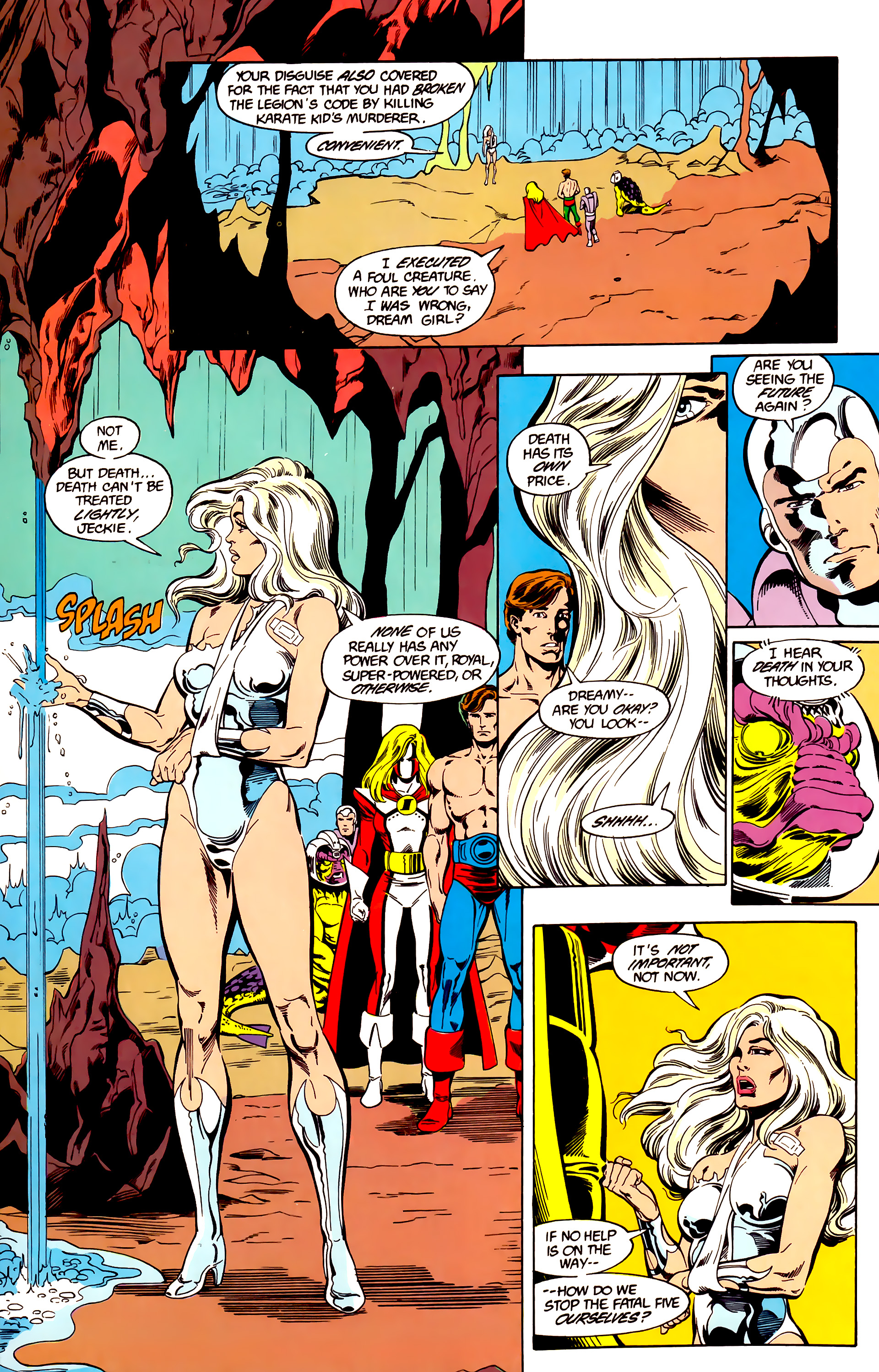 Legion of Super-Heroes (1984) 26 Page 15