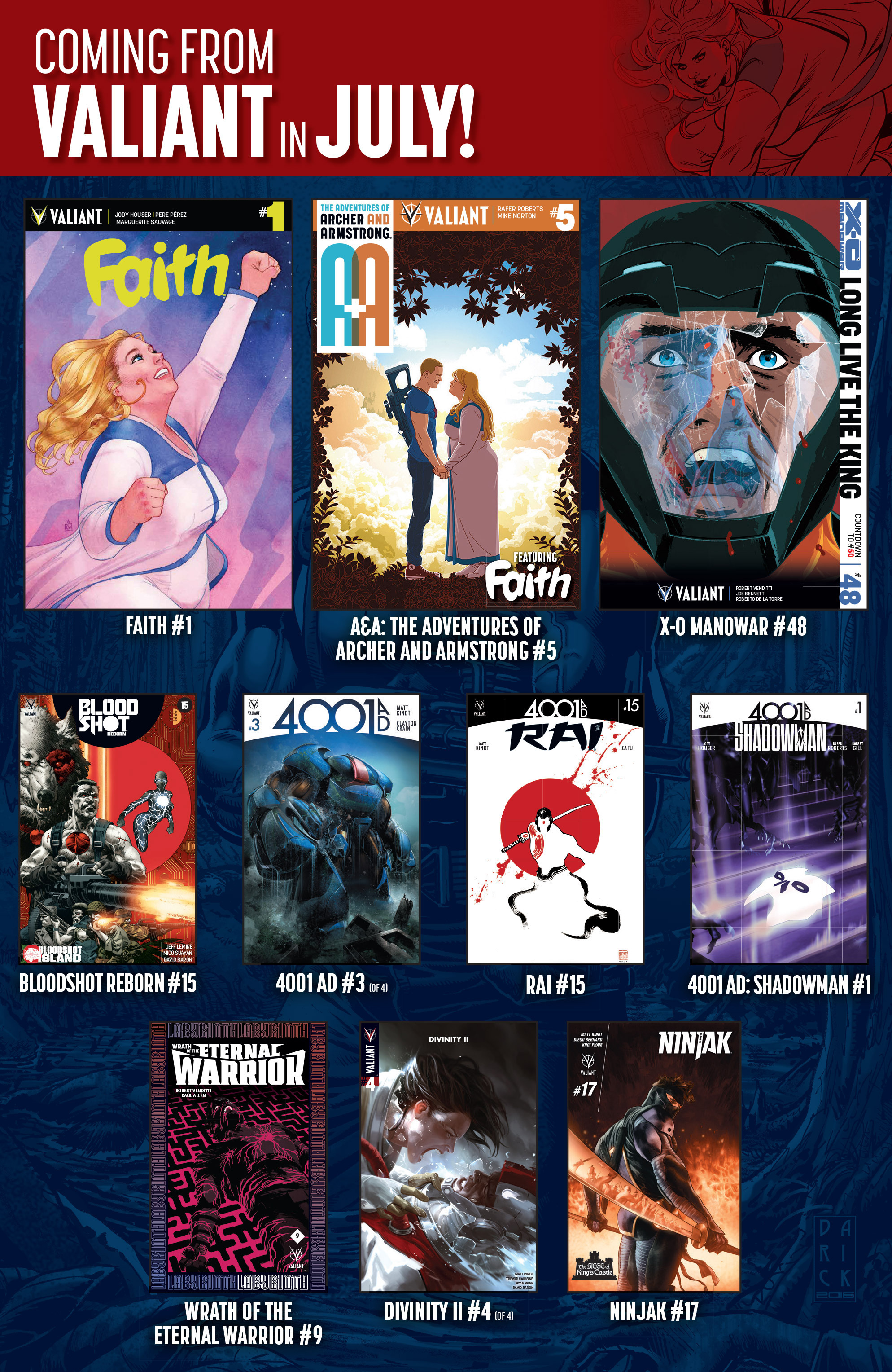 Read online 4001 A.D. comic -  Issue #2 - 33