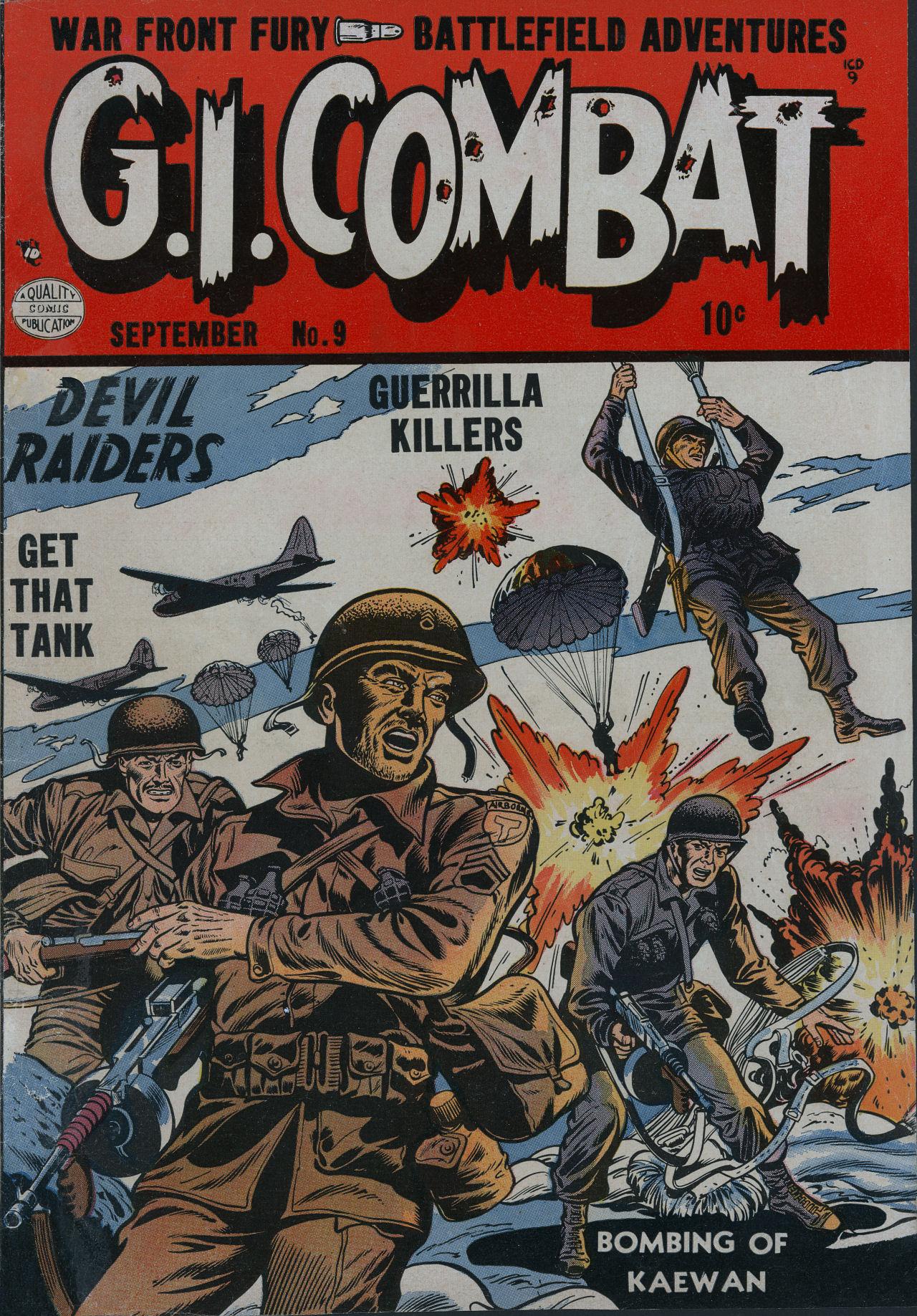 G.I. Combat (1952) 9 Page 1