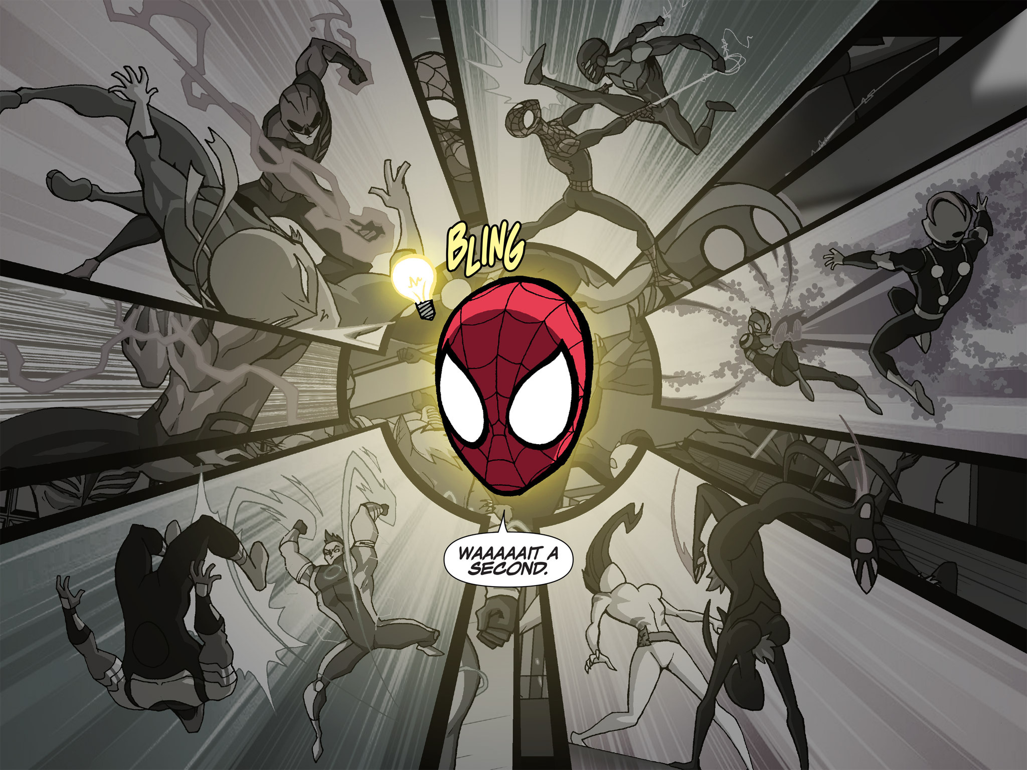 Read online Ultimate Spider-Man (Infinite Comics) (2015) comic -  Issue #24 - 6