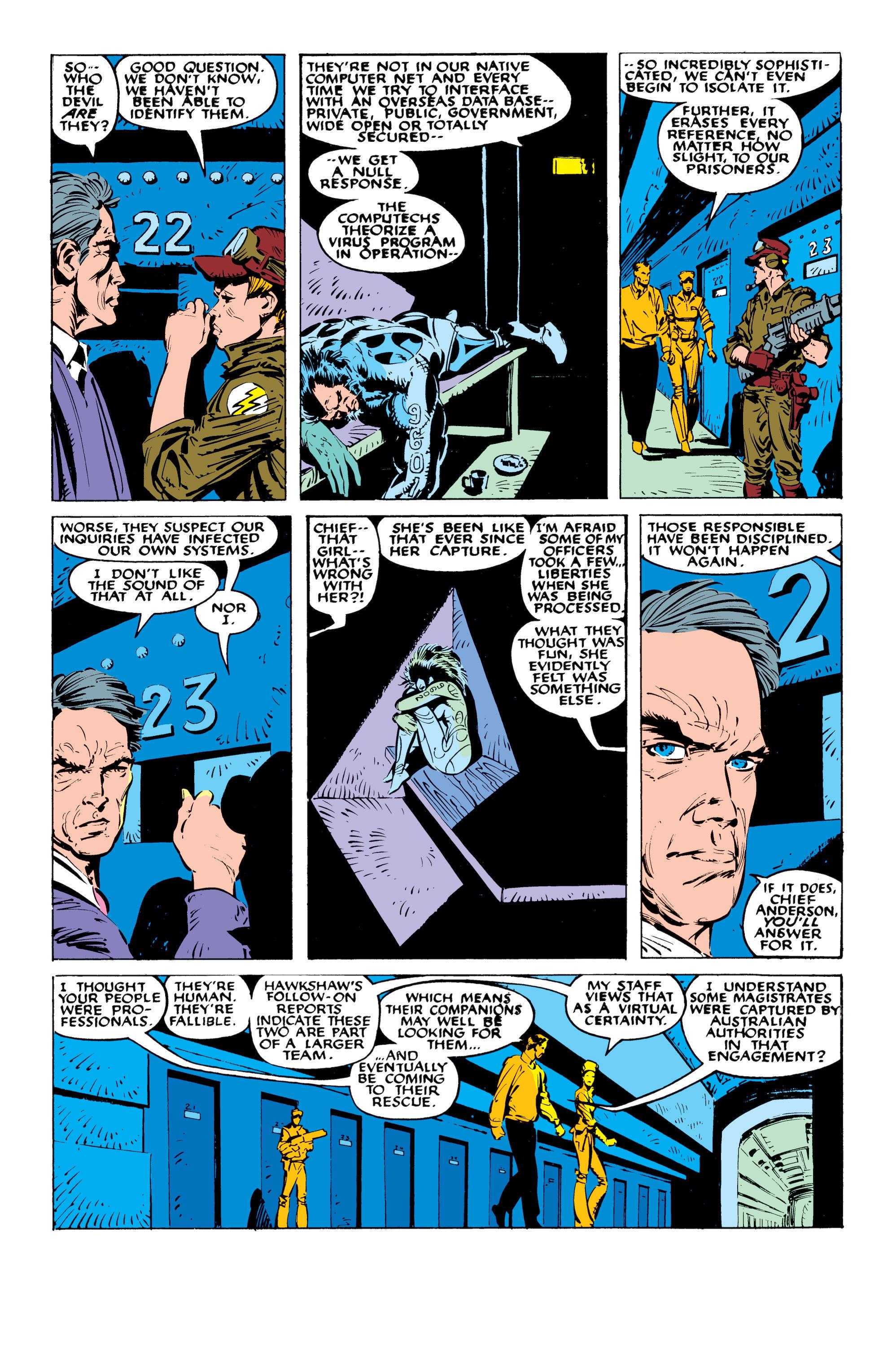 Read online Uncanny X-Men (1963) comic -  Issue #236 - 9
