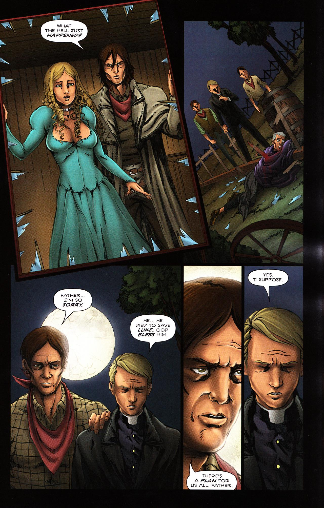 Read online Salem's Daughter: The Haunting comic -  Issue #2 - 12