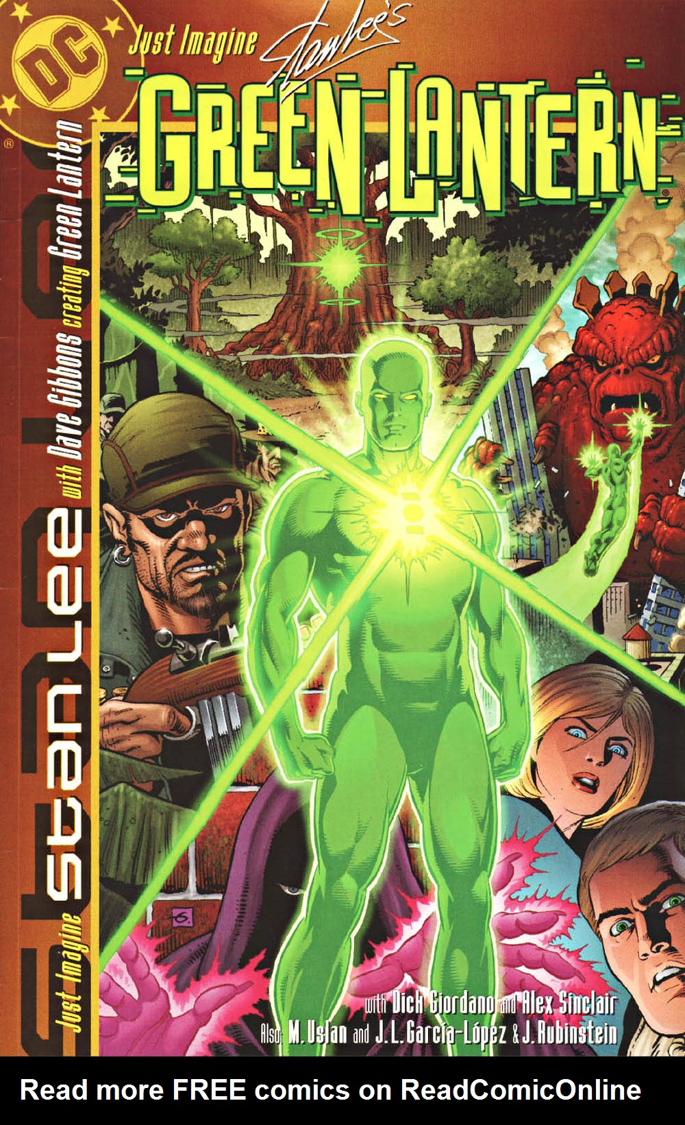 Just imagine Stan Lee's Green Lantern issue Full - Page 1