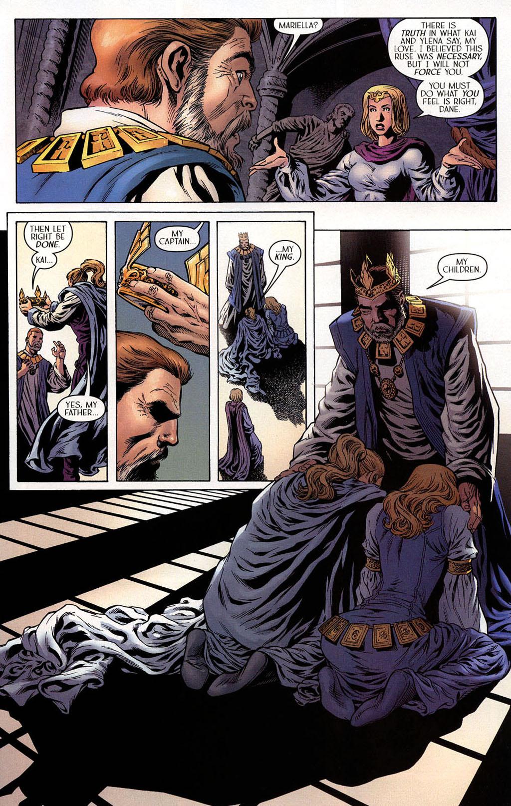 Read online Scion comic -  Issue #40 - 16