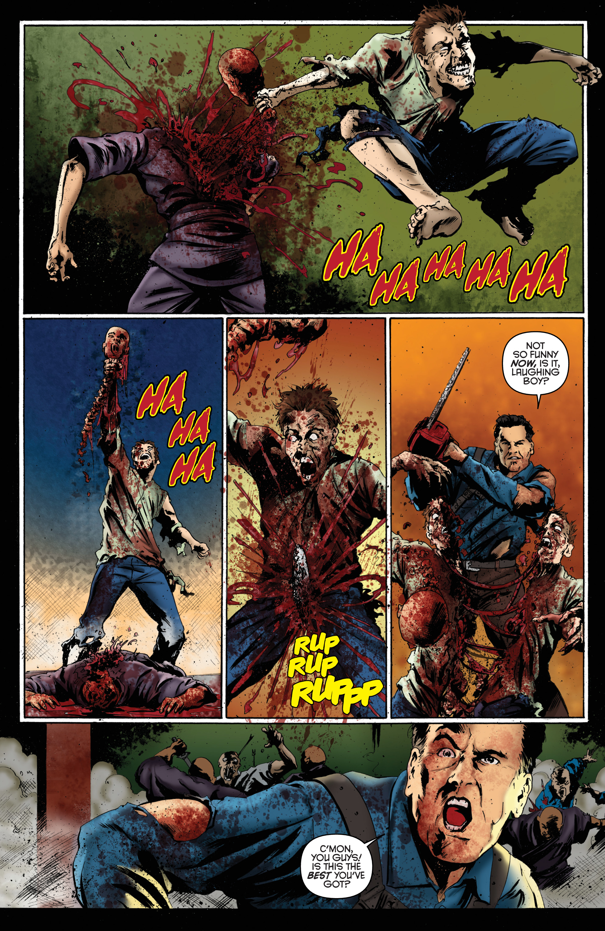Read online Army of Darkness: Furious Road comic -  Issue #6 - 12