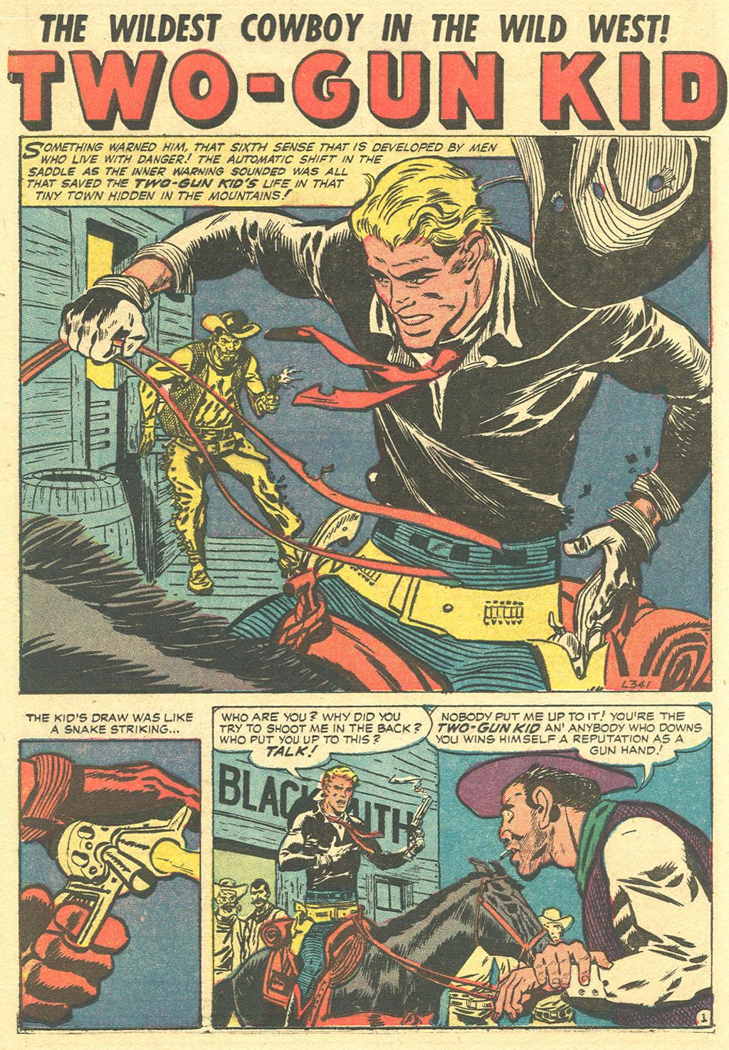 Read online Two-Gun Kid comic -  Issue #36 - 16