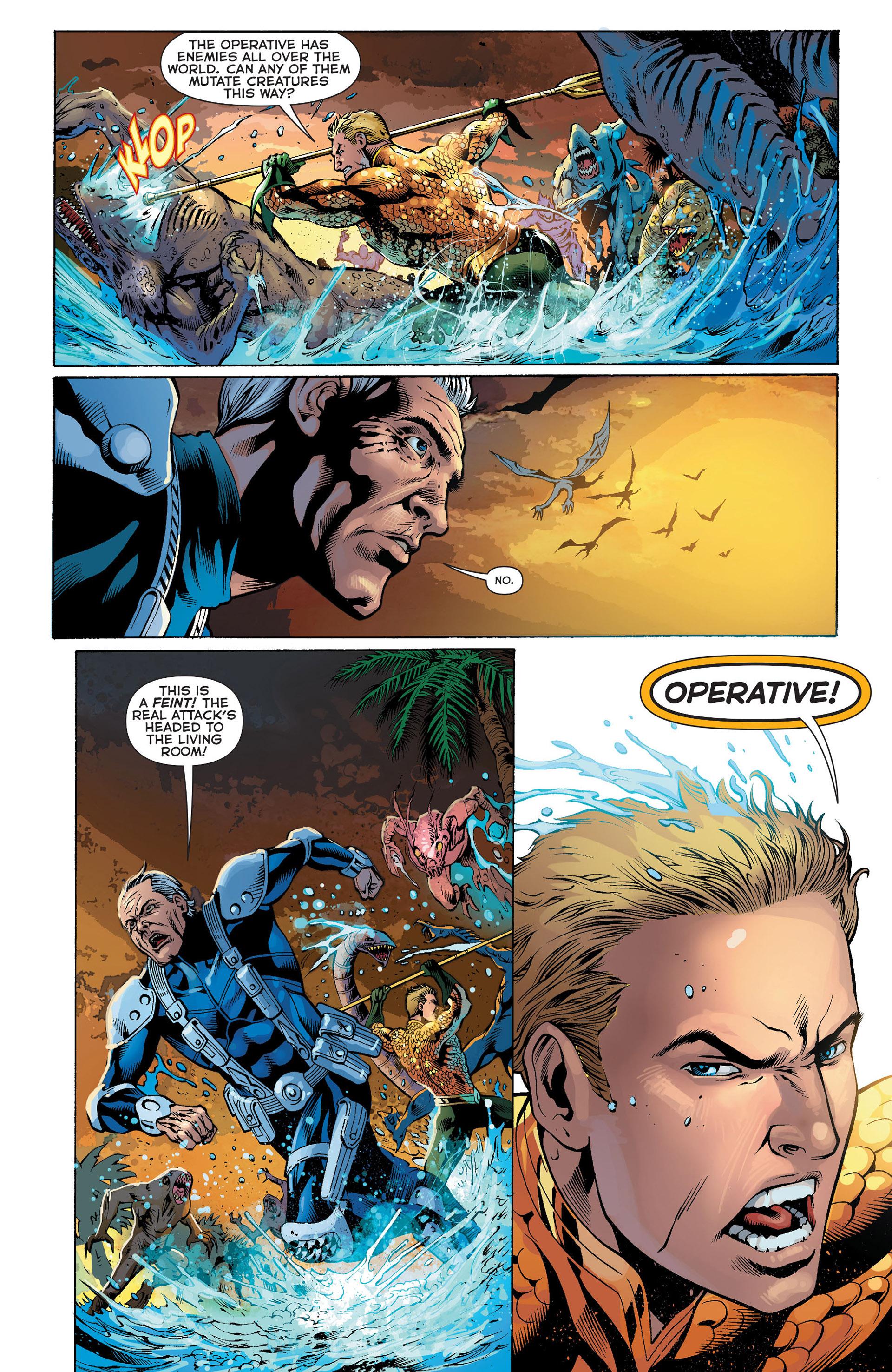 Read online Aquaman (2011) comic -  Issue #Aquaman (2011) _Annual 1 - 6