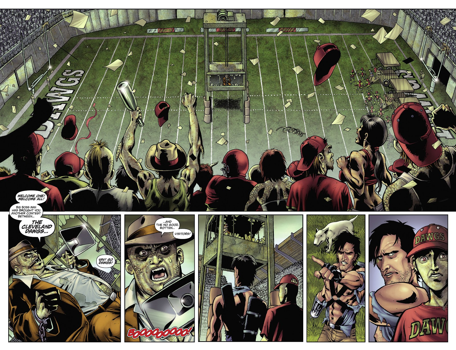 Army of Darkness: The Long Road Home issue TPB - Page 48