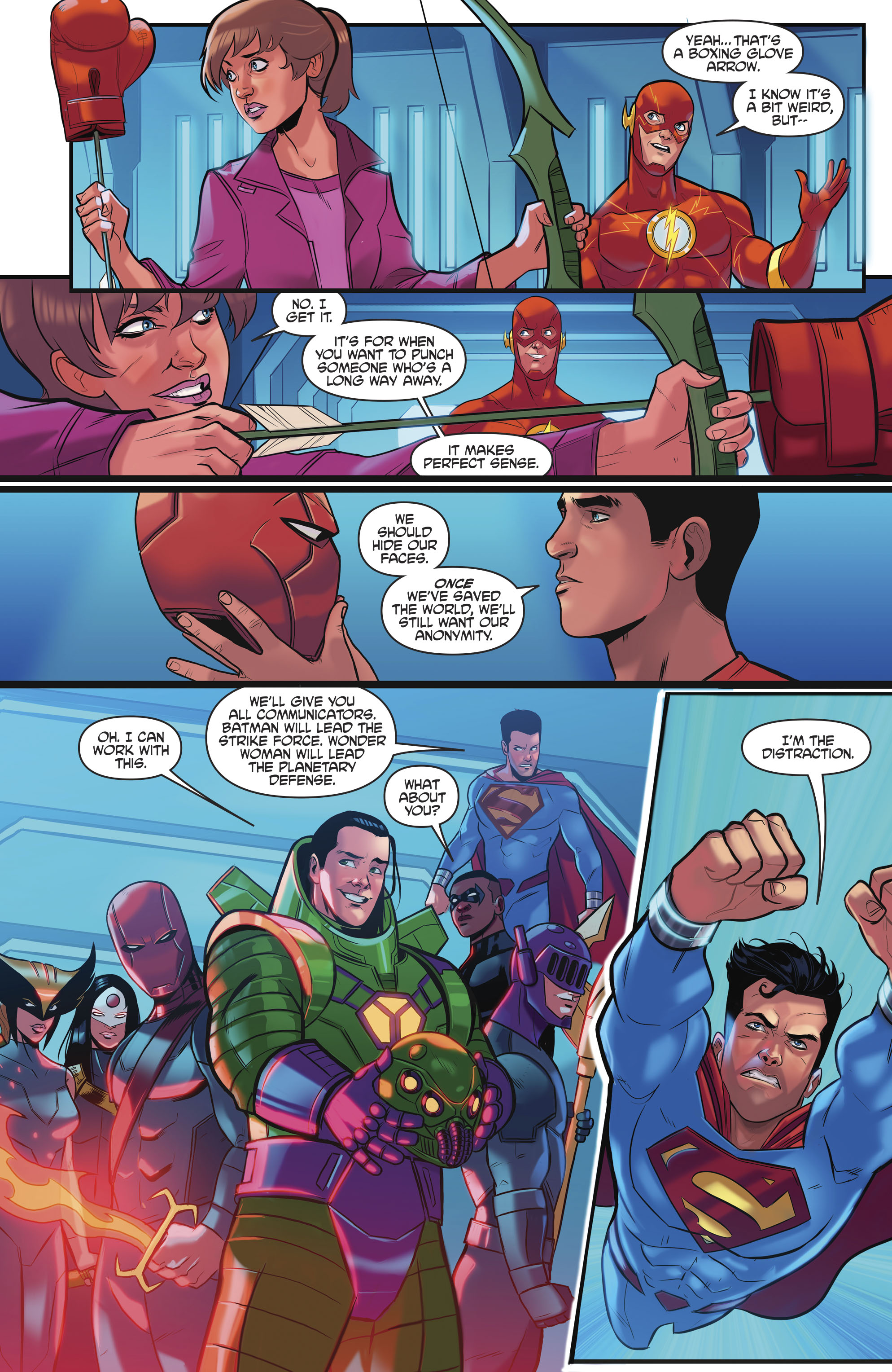 Read online Justice League/Mighty Morphin' Power Rangers comic -  Issue #4 - 17