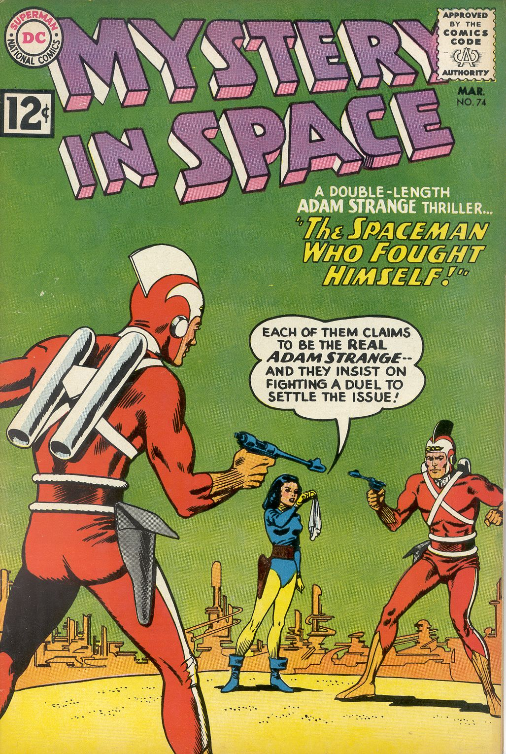 Mystery in Space (1951) issue 74 - Page 1