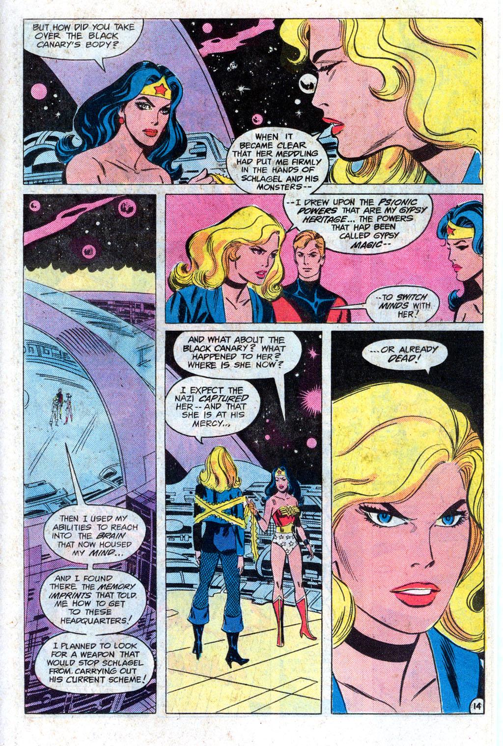 Read online Wonder Woman (1942) comic -  Issue #308 - 19