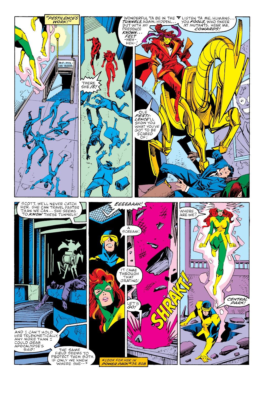 Read online X-Men Milestones: Fall of the Mutants comic -  Issue # TPB (Part 3) - 13